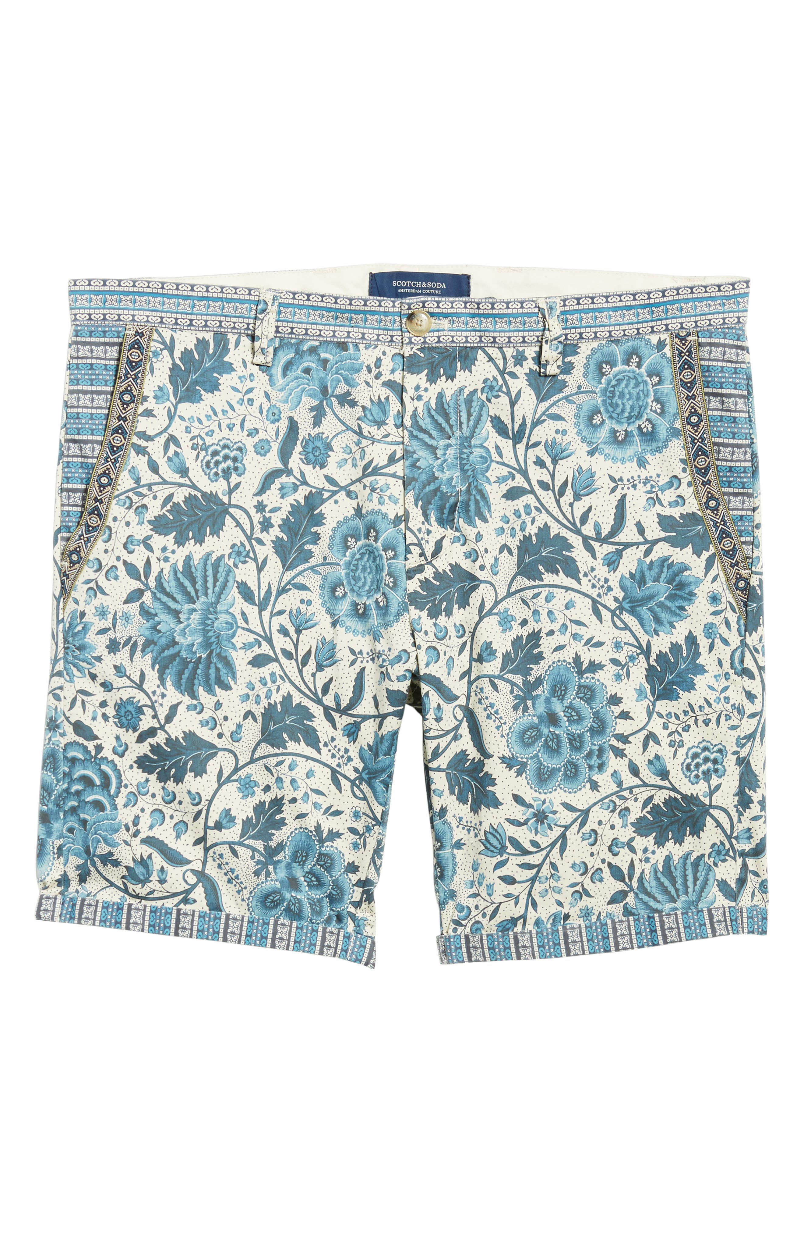 Print Shorts,                             Alternate thumbnail 6, color,                             400