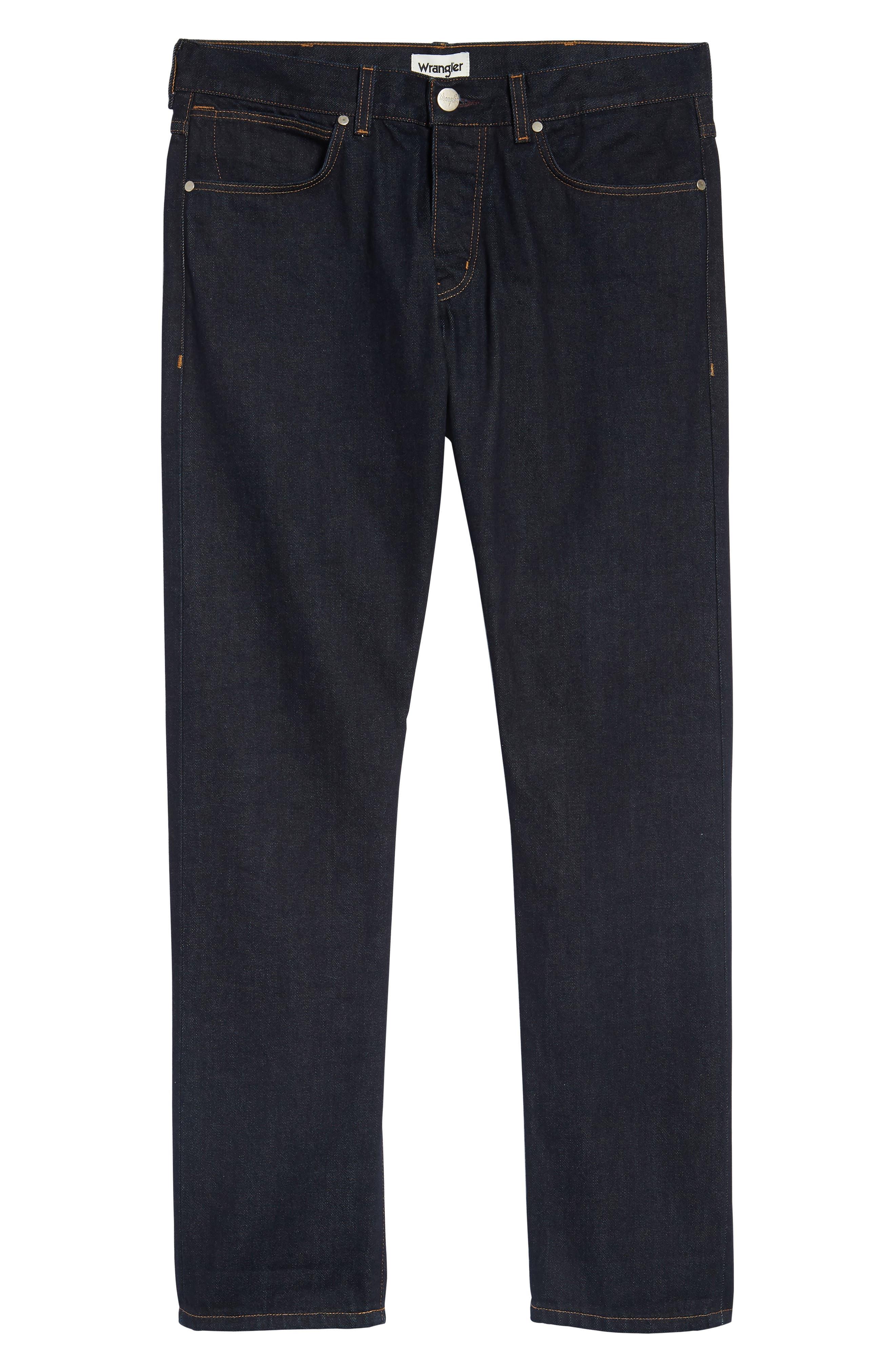 Spencer Selvedge Slim Straight Leg Jeans,                             Alternate thumbnail 6, color,                             468
