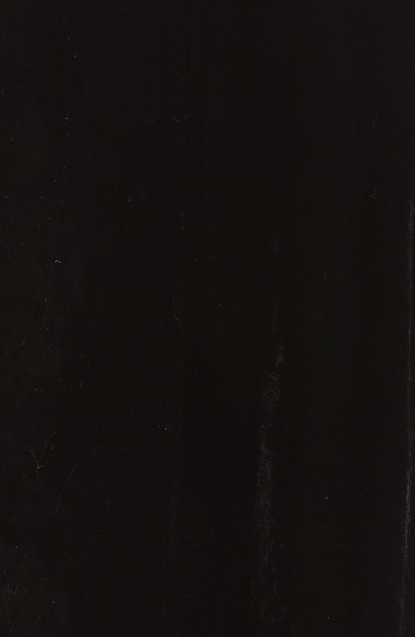 Shawl Collar Velvet Jacket,                             Alternate thumbnail 6, color,                             001