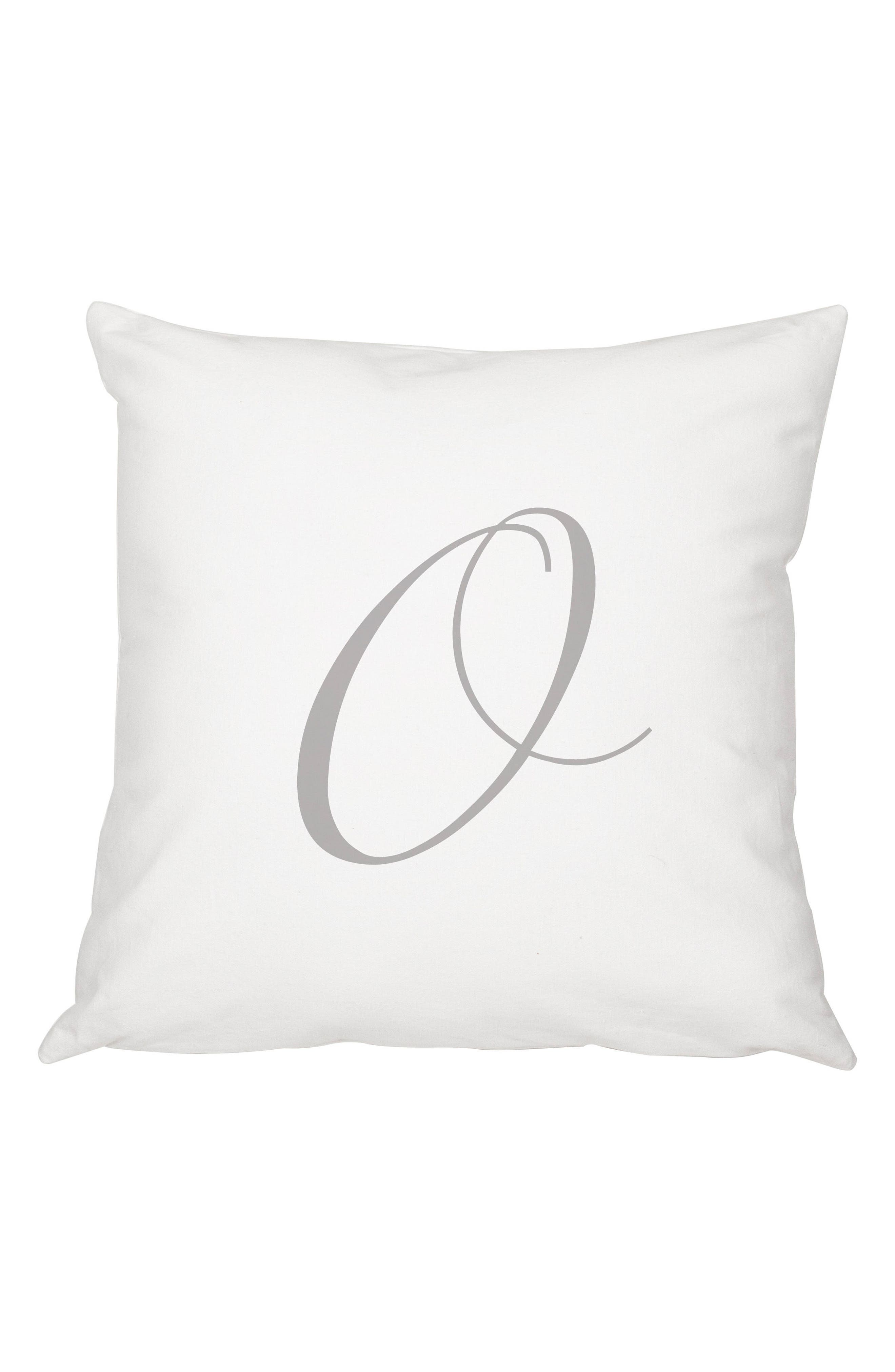 Script Monogram Accent Pillow,                             Main thumbnail 15, color,