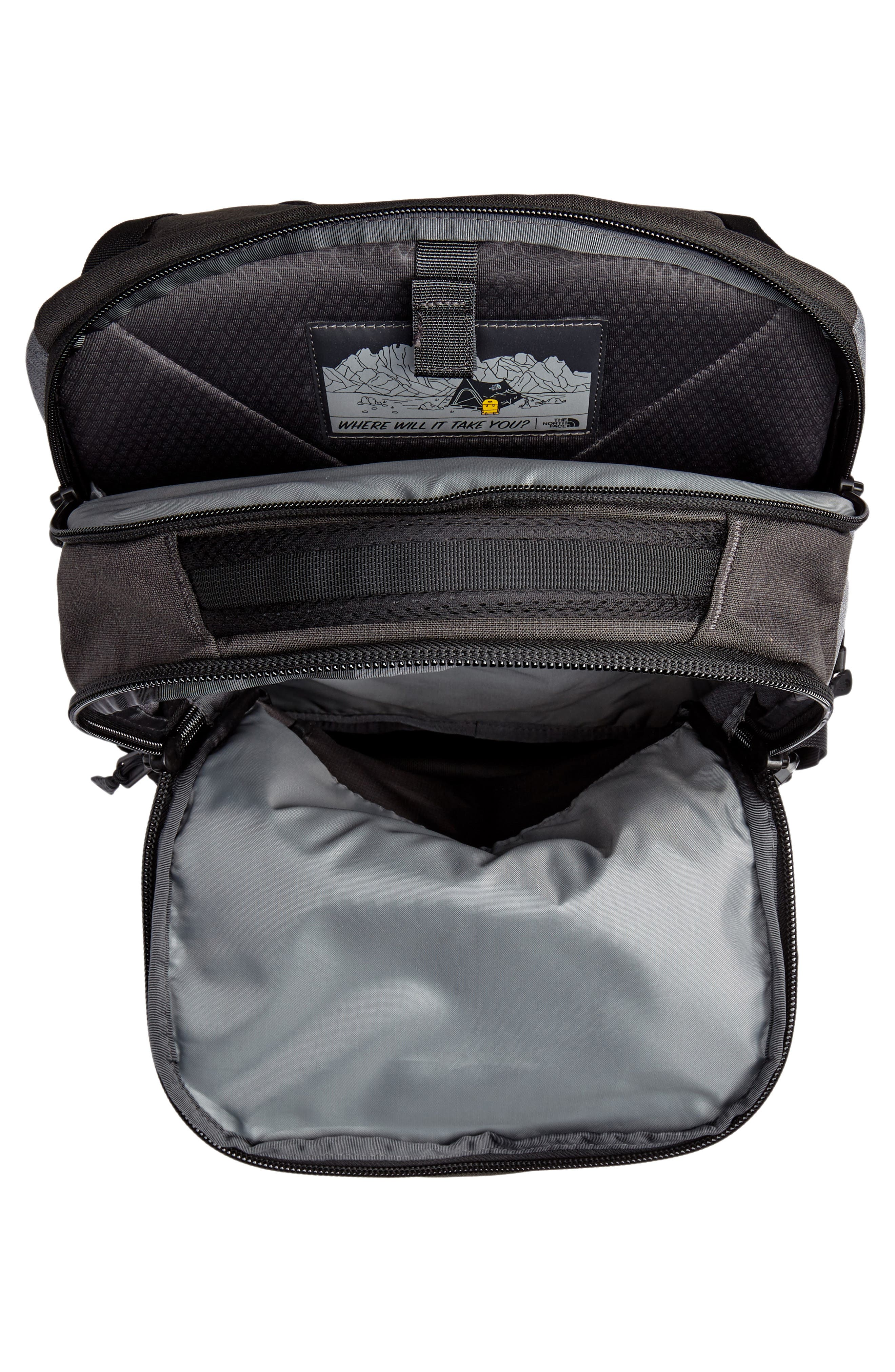 Recon Backpack,                             Alternate thumbnail 4, color,                             DARK GREY HEATHER