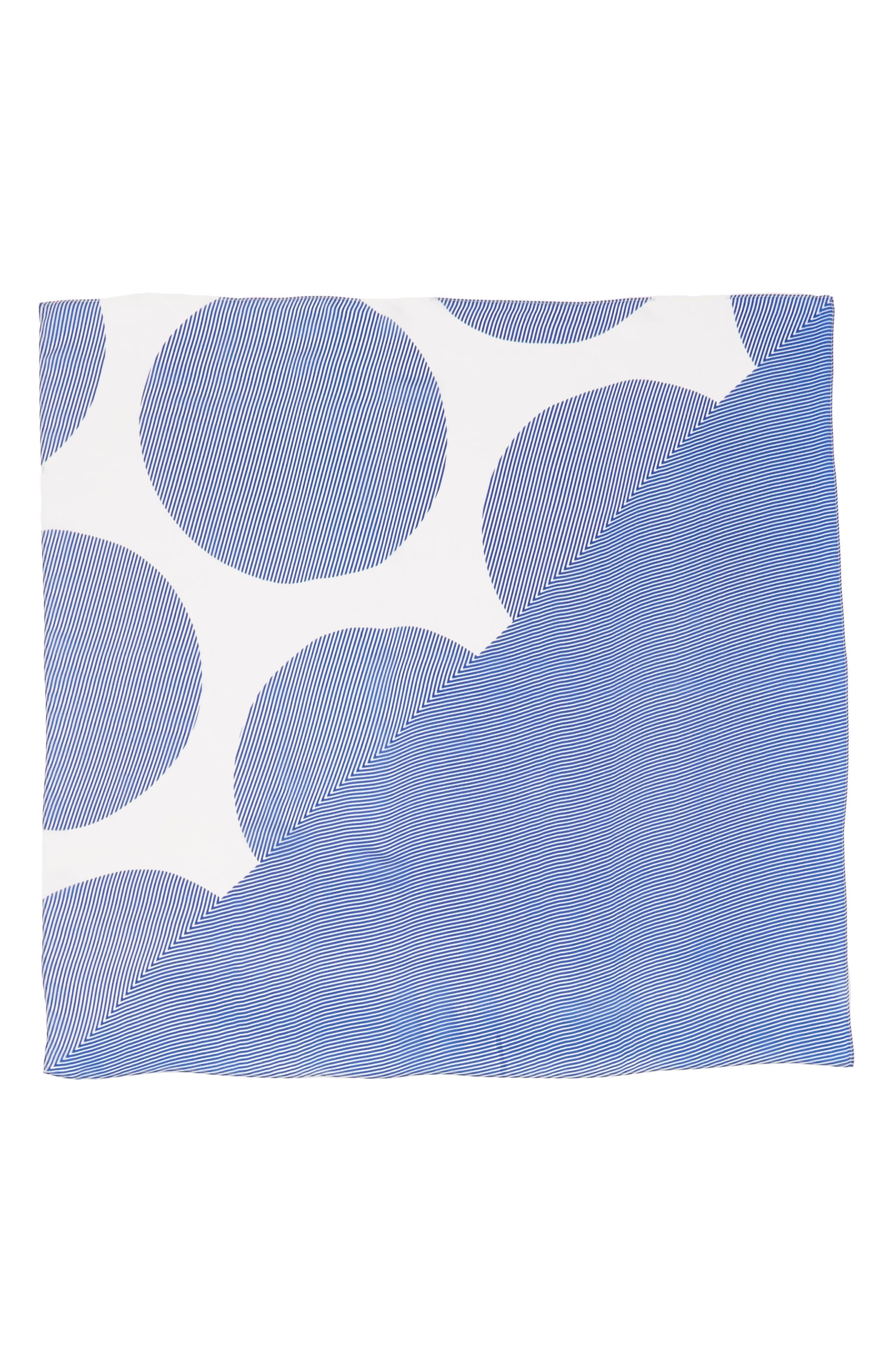 Print Silk Scarf,                             Alternate thumbnail 32, color,