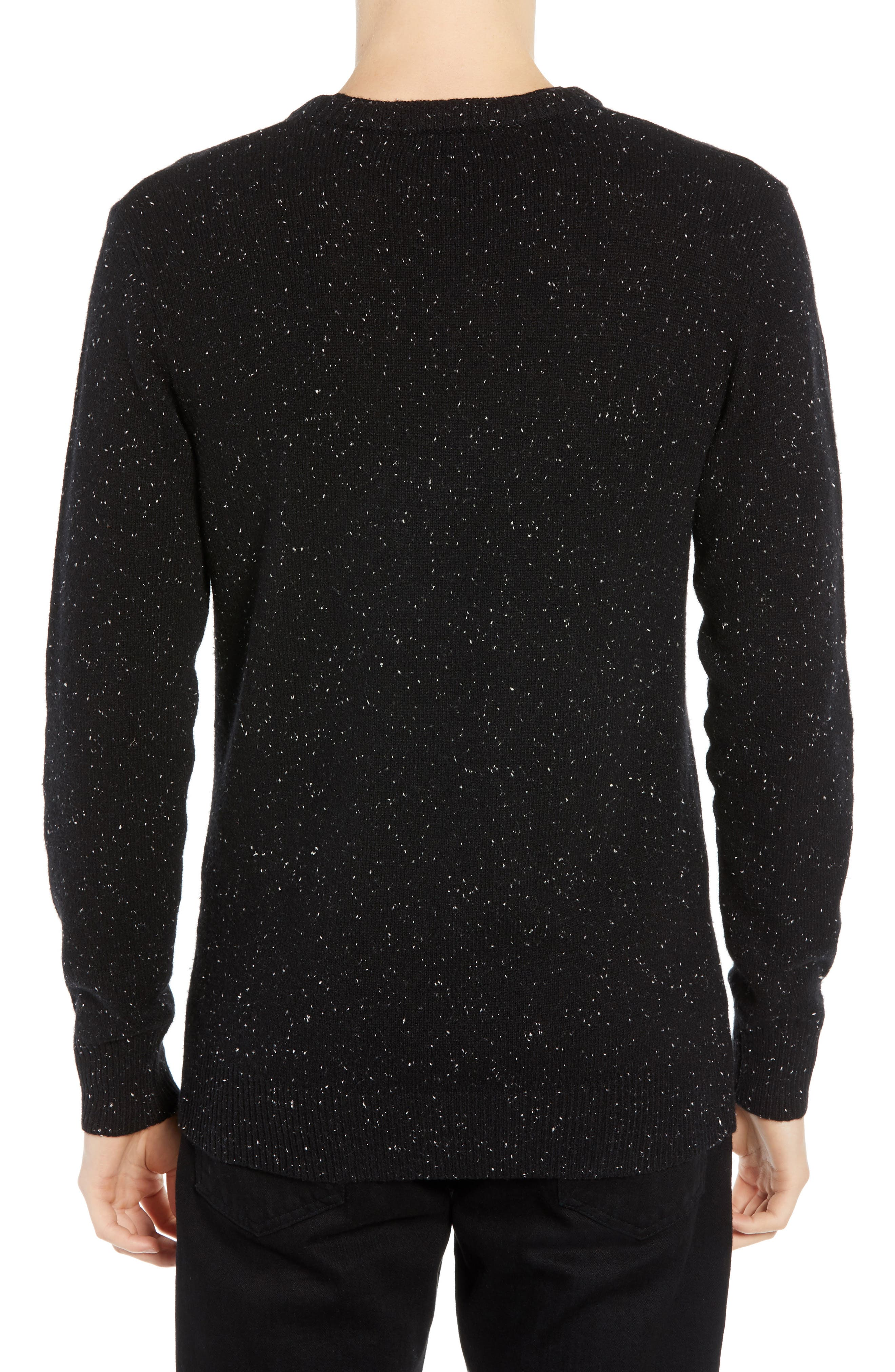 Nepped Wool Blend Sweater,                             Alternate thumbnail 2, color,                             COMBO B