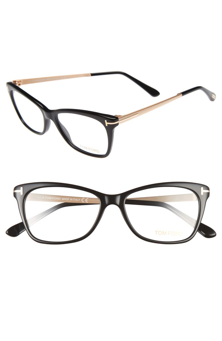 1e66b379c3 Tom Ford 52mm Cat Eye Optical Glasses