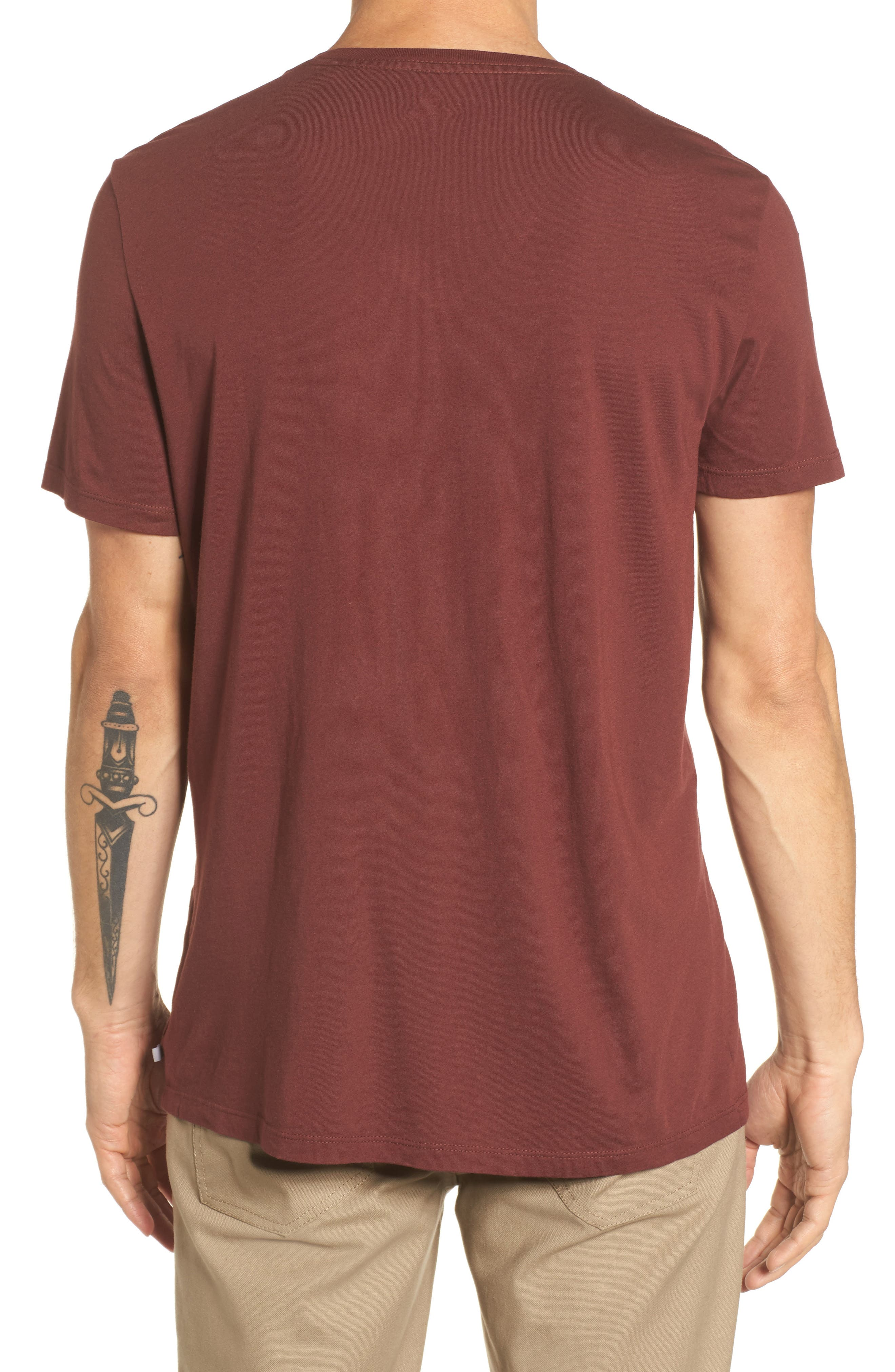 Bryce V-Neck T-Shirt,                             Alternate thumbnail 4, color,