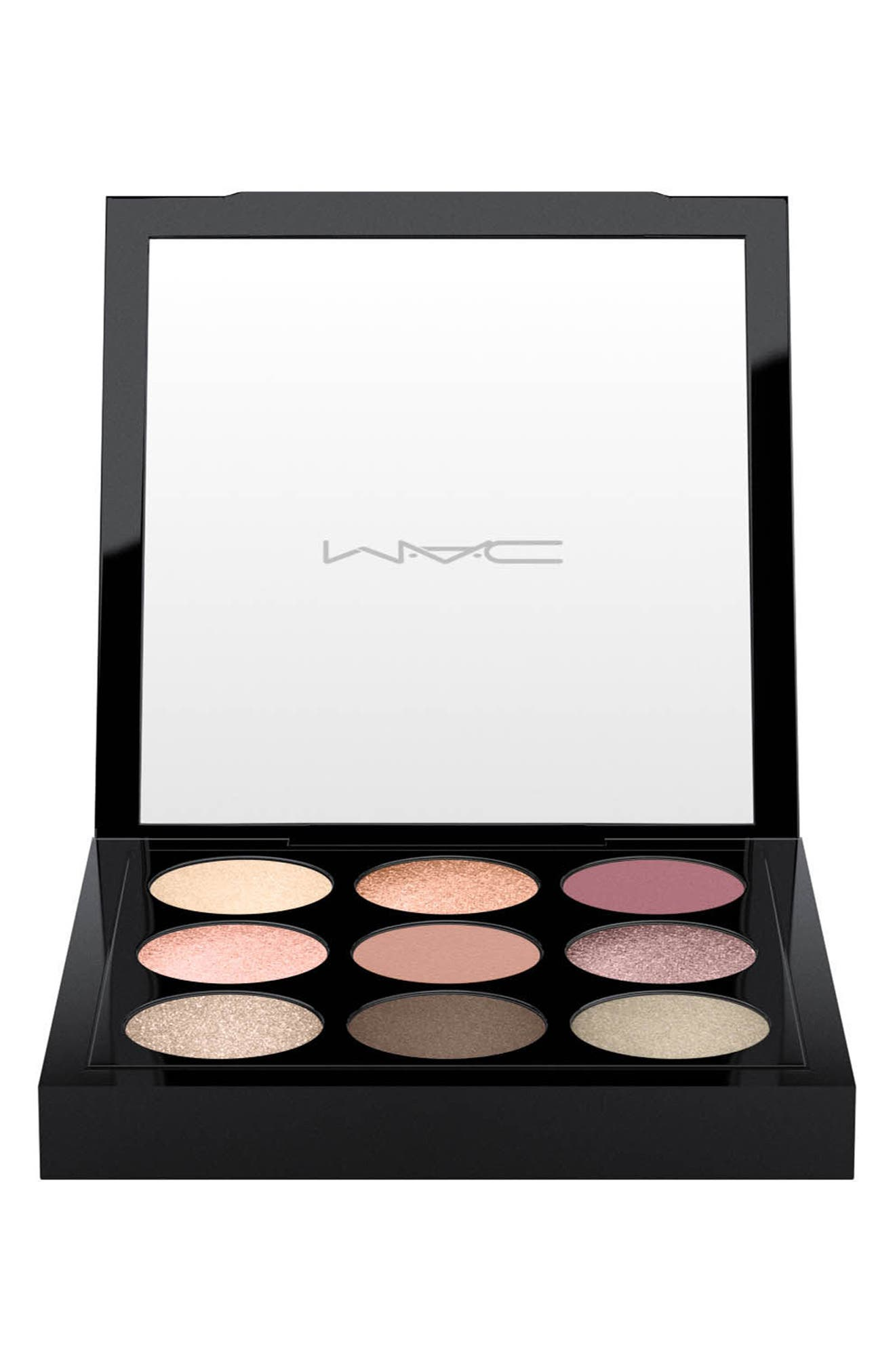 MAC Times Nine Eyeshadow Palette,                             Alternate thumbnail 2, color,                             SOLAR GLOW TIMES NINE