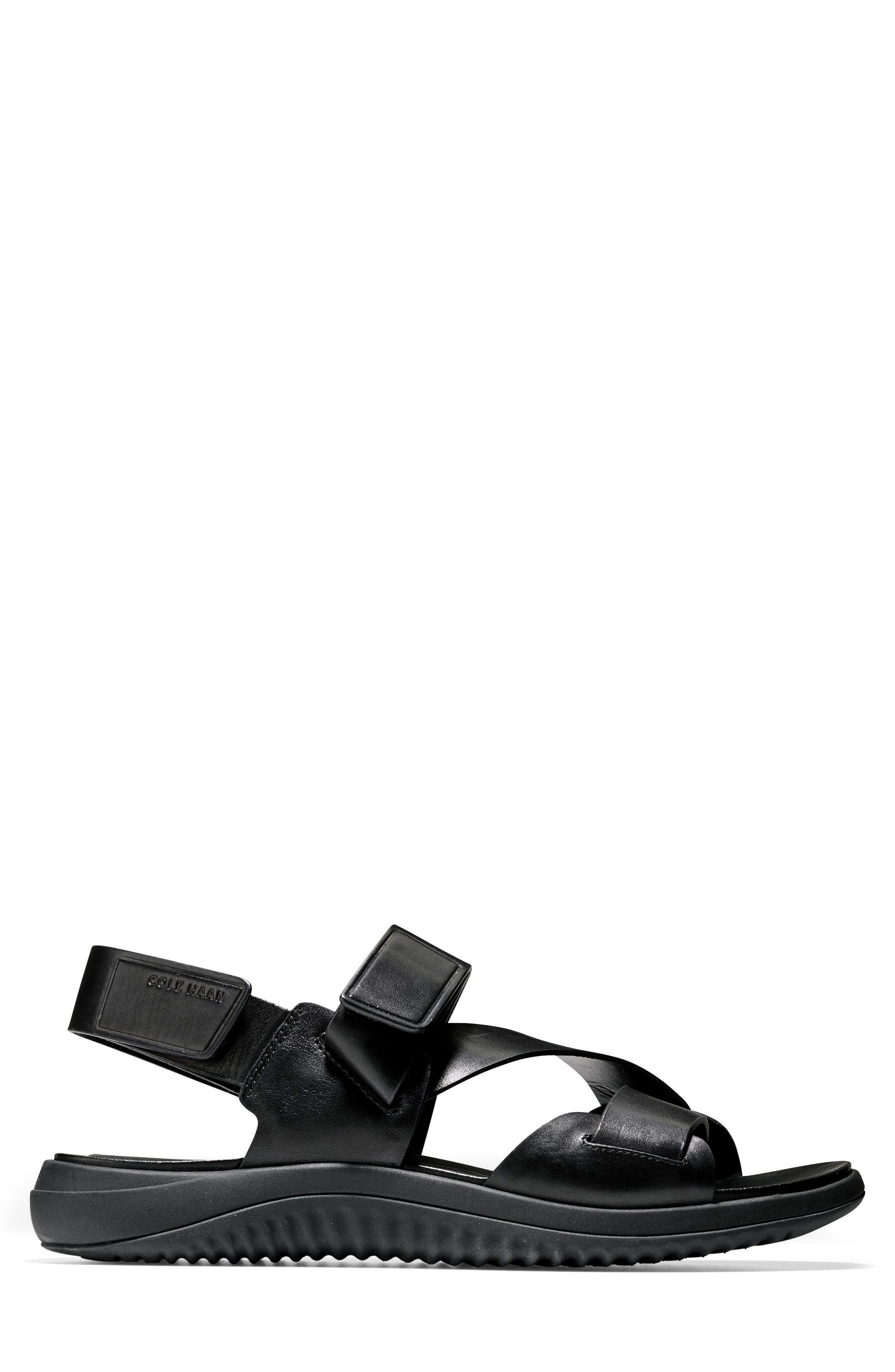2.ZeroGrand Multistrap Sandal,                             Alternate thumbnail 3, color,                             003