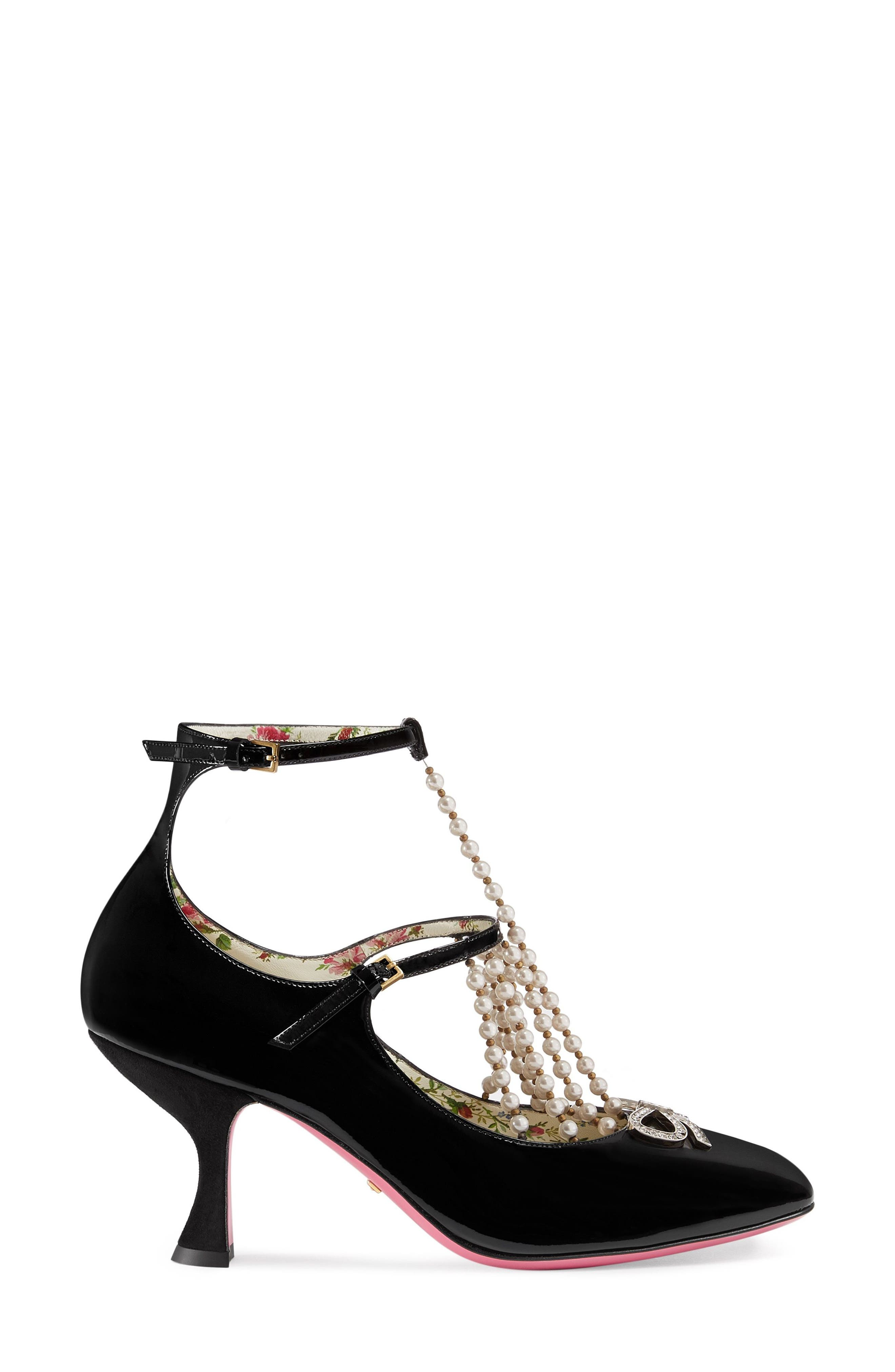 Taide Embellished Pump,                             Alternate thumbnail 3, color,                             001