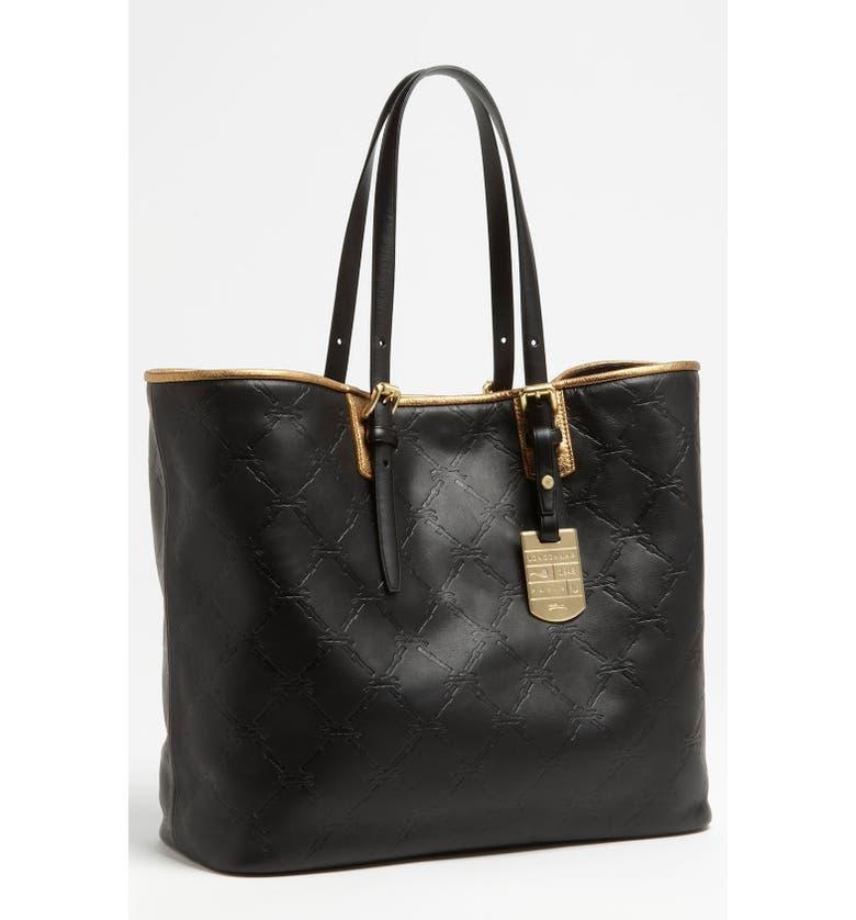 Longchamp  LM Cuir - Medium  Leather Tote  0dd79451fc98f