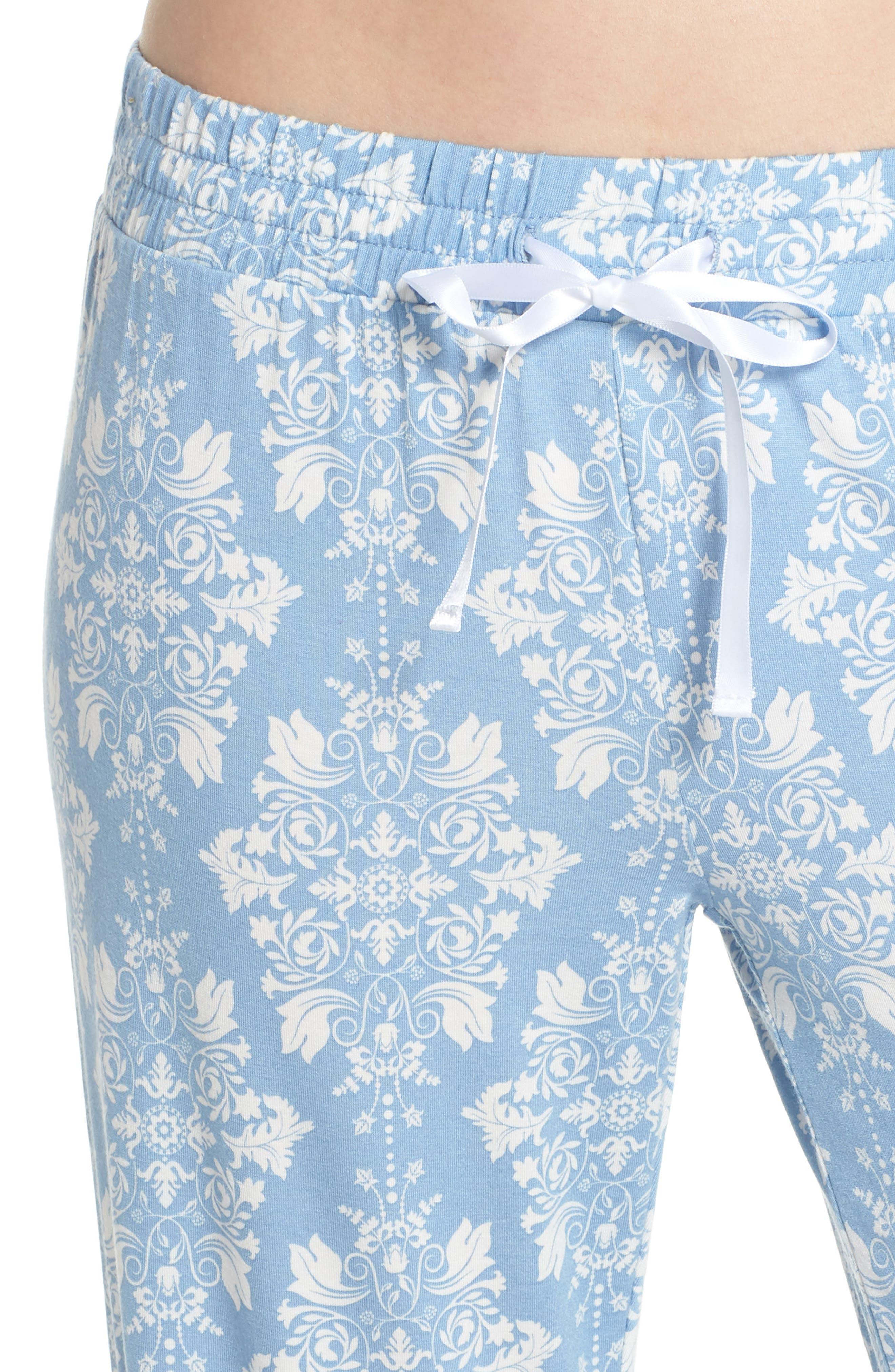 Jersey Pajama Pants,                             Alternate thumbnail 4, color,                             400