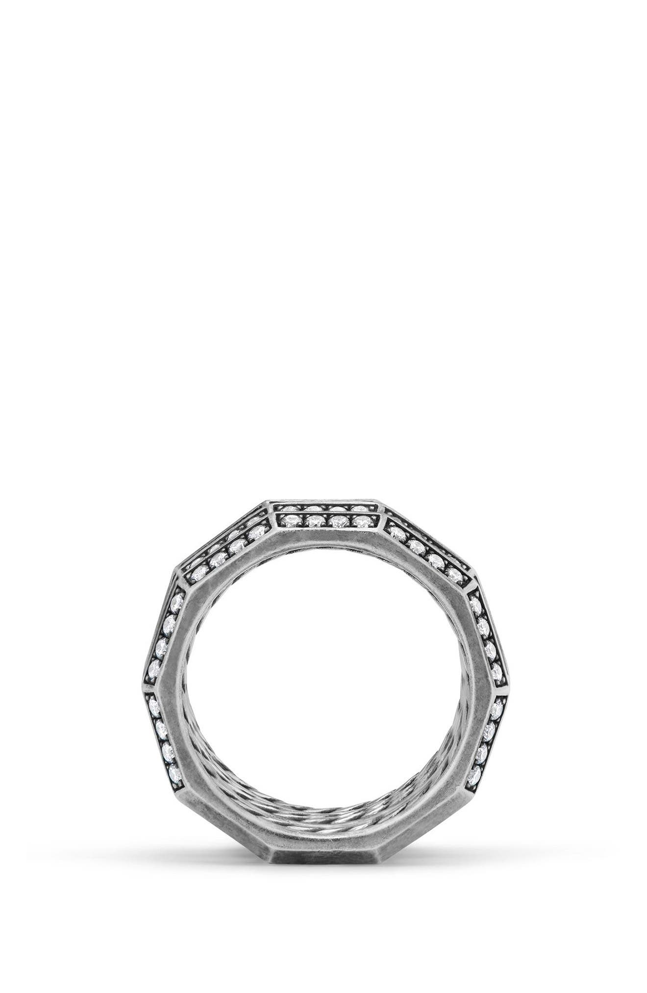 Stax 3-Row Ring,                             Alternate thumbnail 4, color,                             SILVER