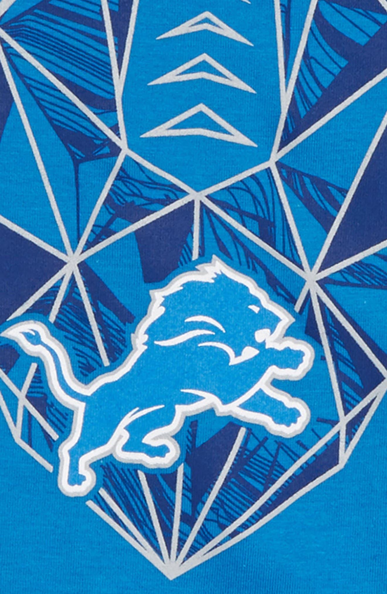 NFL Logo Detroit Lions Graphic T-Shirt,                             Alternate thumbnail 2, color,                             BLUE