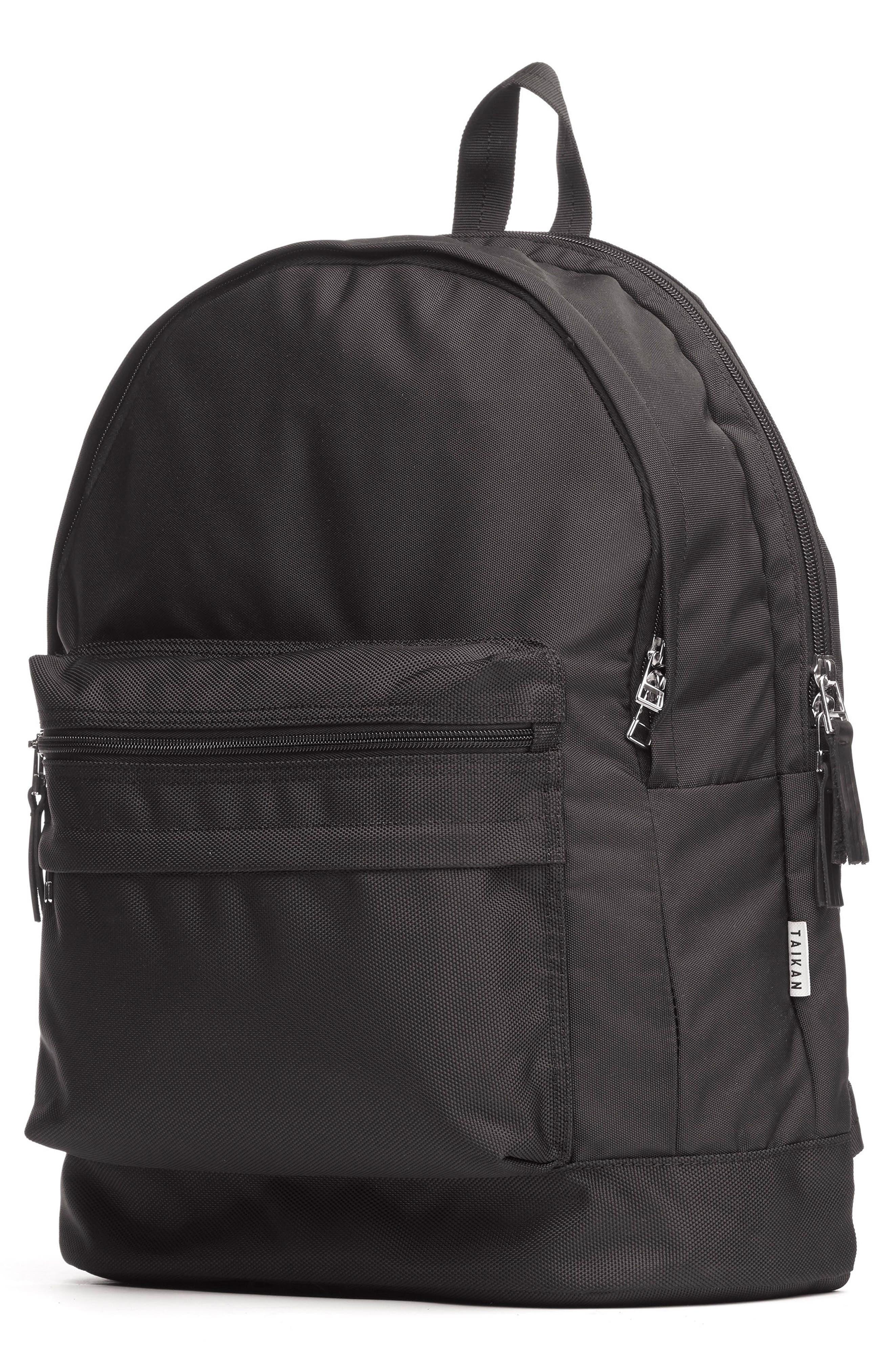 Lancer Backpack,                             Alternate thumbnail 4, color,                             MATTE BLACK