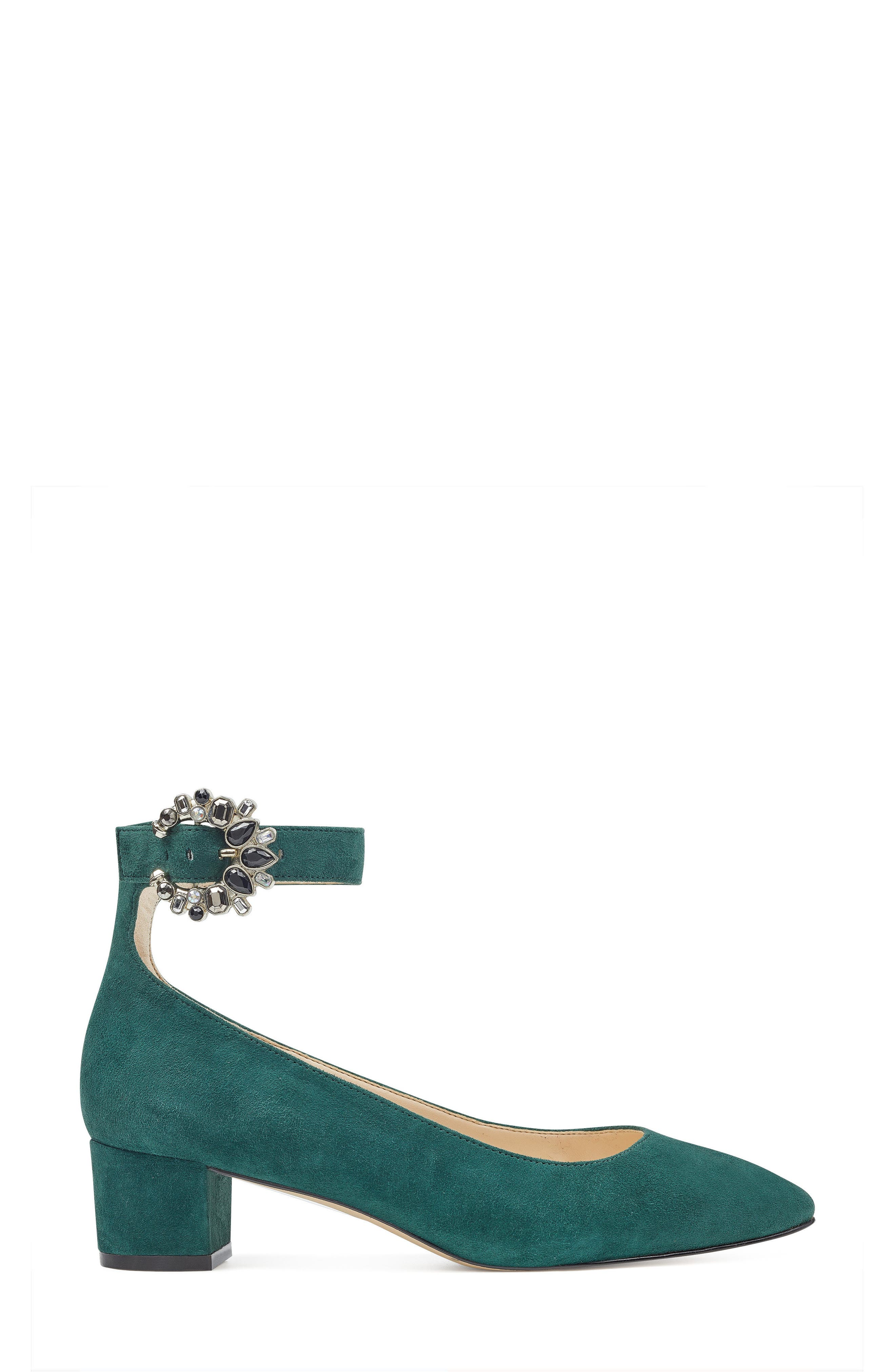 Bartly Ankle Strap Pump,                             Alternate thumbnail 9, color,