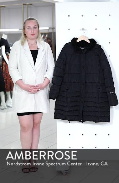 Matte Finish Puffer Coat, sales video thumbnail