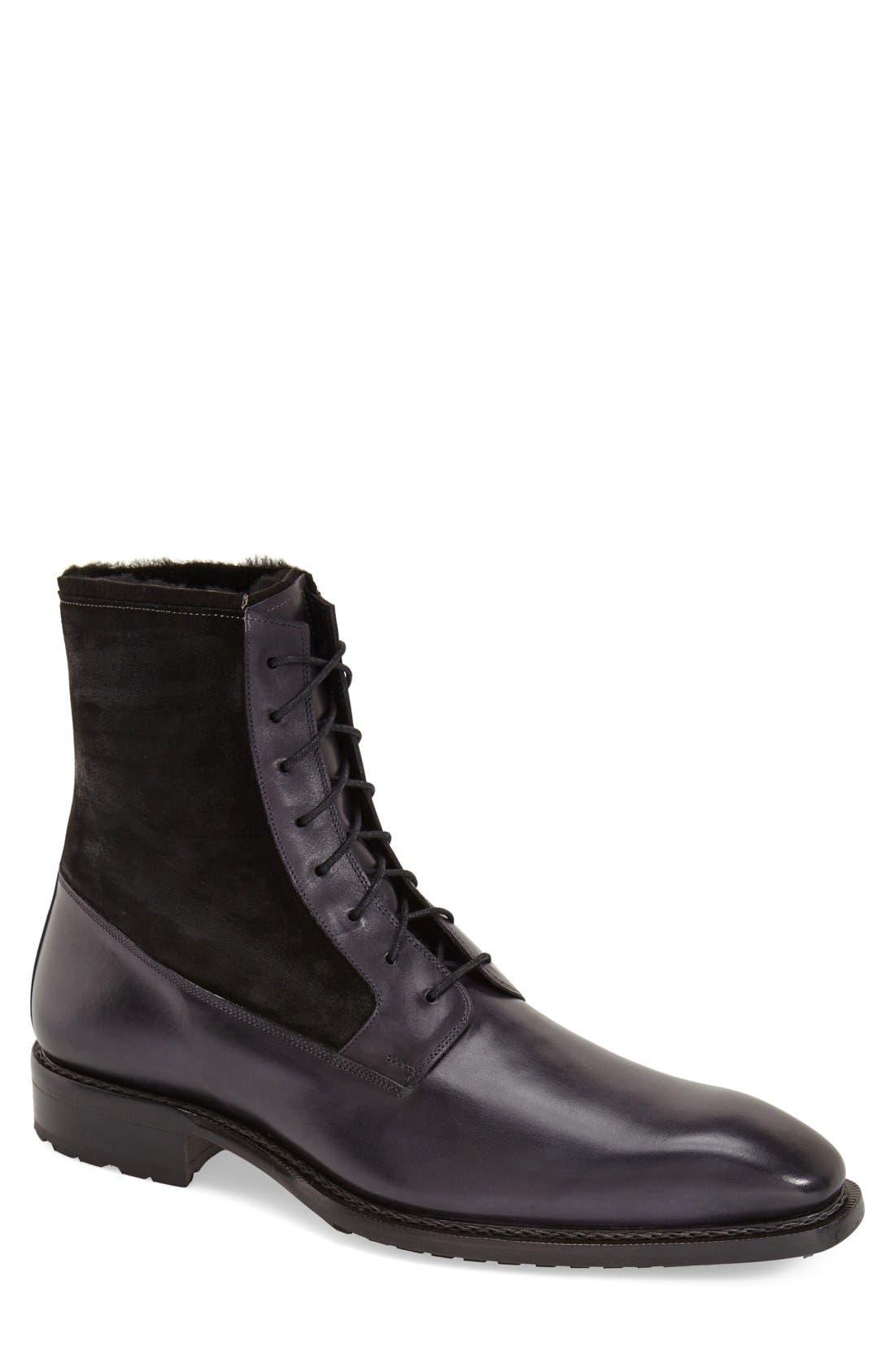 'Luzern' Genuine Shearling Boot,                             Main thumbnail 2, color,