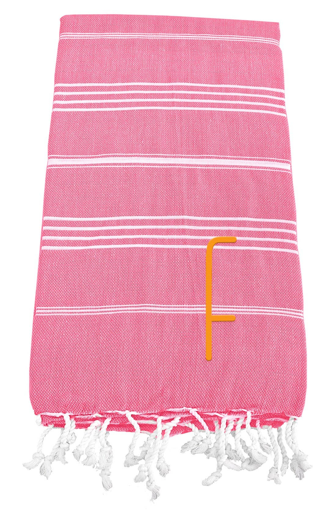 Monogram Turkish Cotton Towel,                             Main thumbnail 142, color,