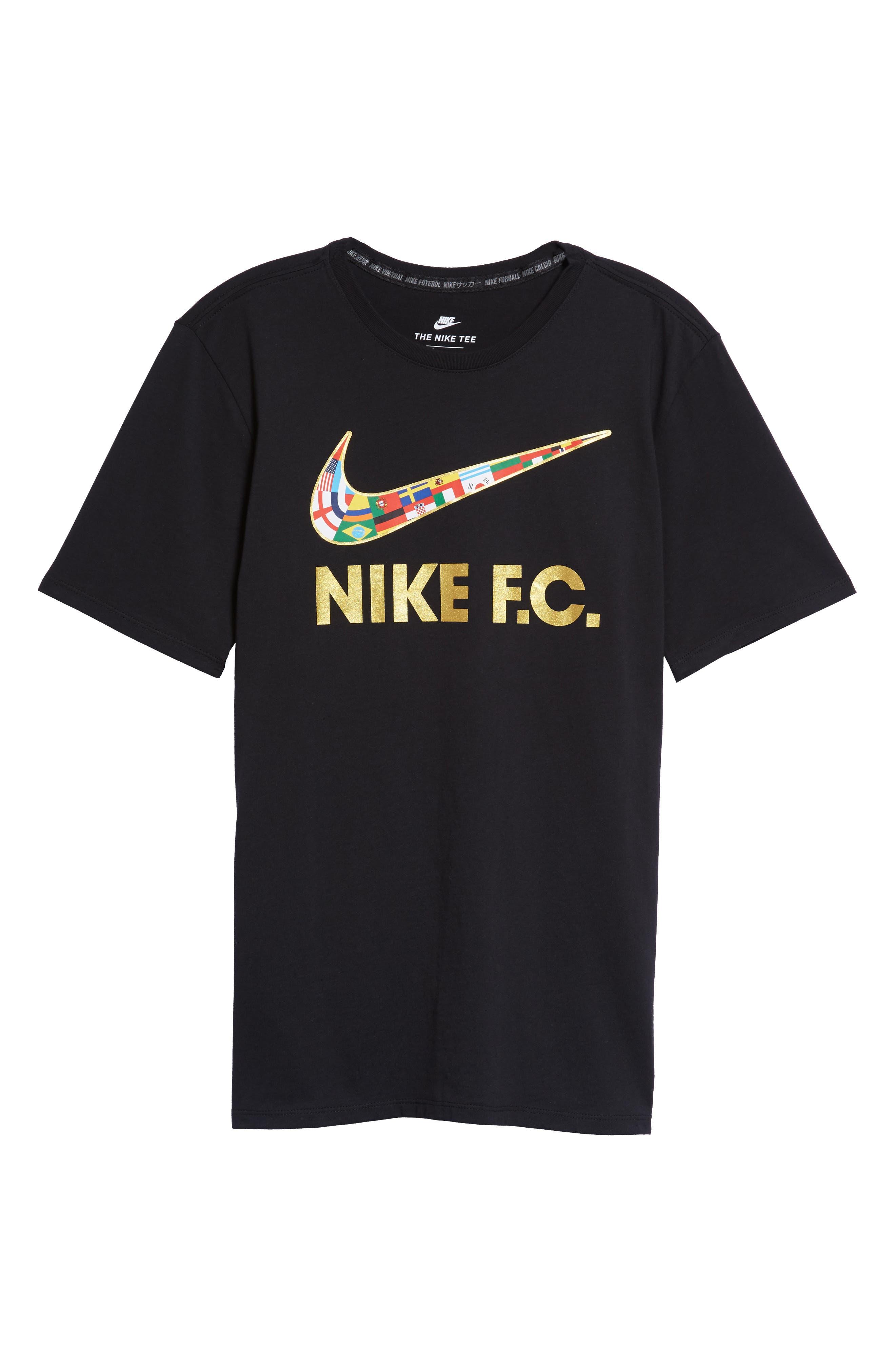F.C. Swoosh Flag Graphic T-Shirt,                             Alternate thumbnail 11, color,