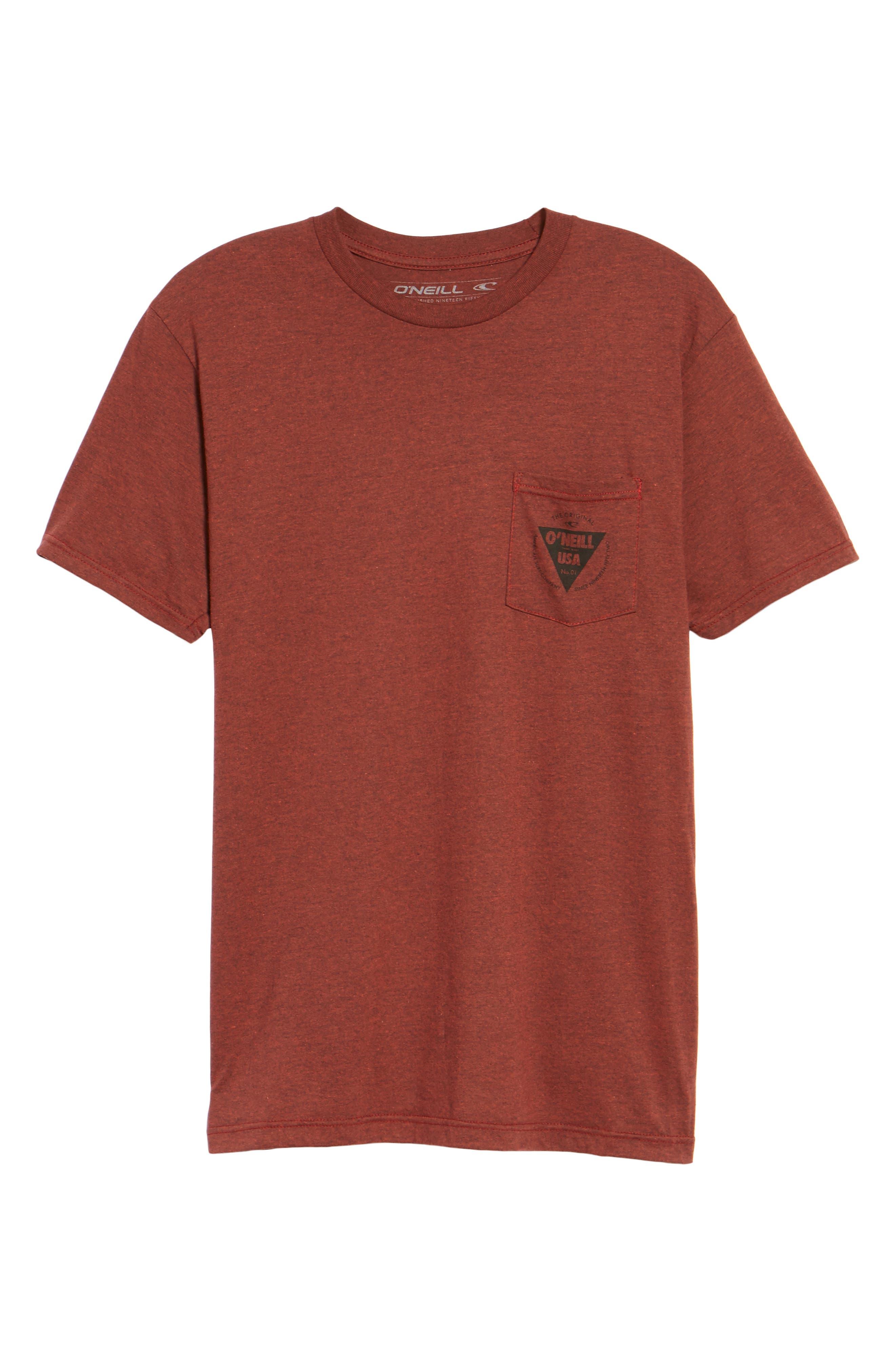 Diver Graphic Pocket T-Shirt,                             Alternate thumbnail 17, color,