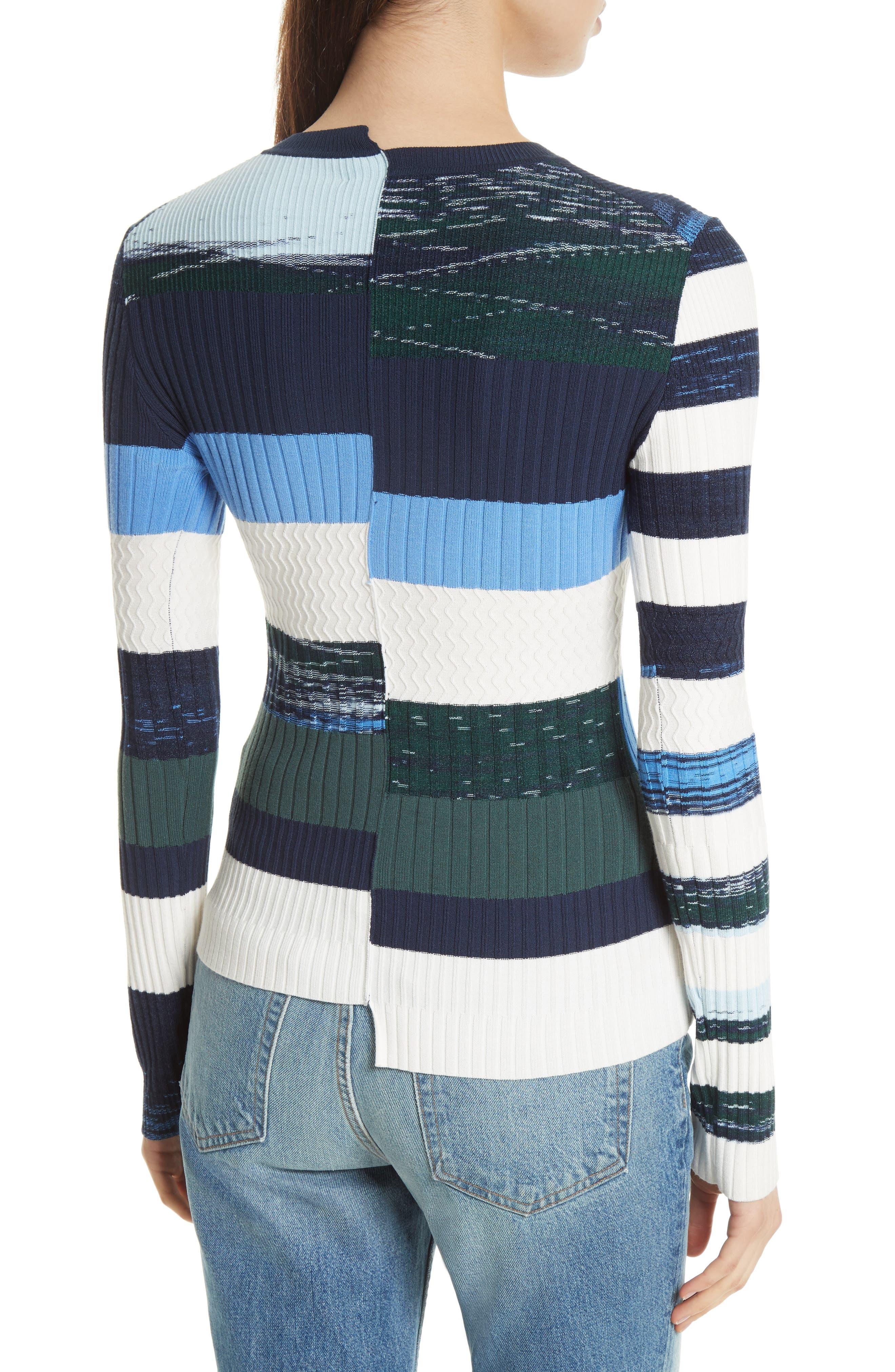 Space Dye Stripe Top,                             Alternate thumbnail 2, color,                             460