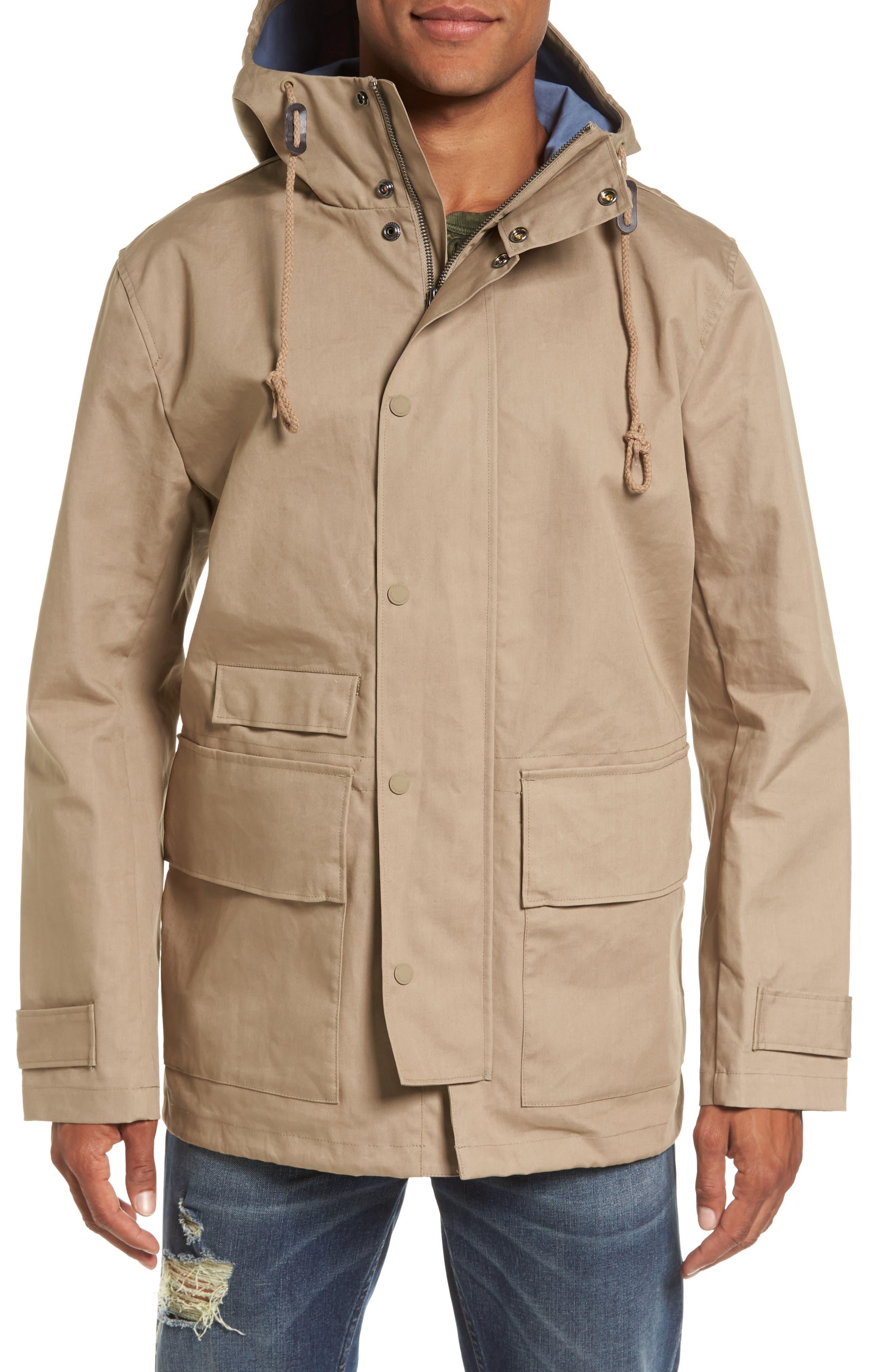 Regular Fit Hooded Rain Jacket,                             Alternate thumbnail 4, color,                             273