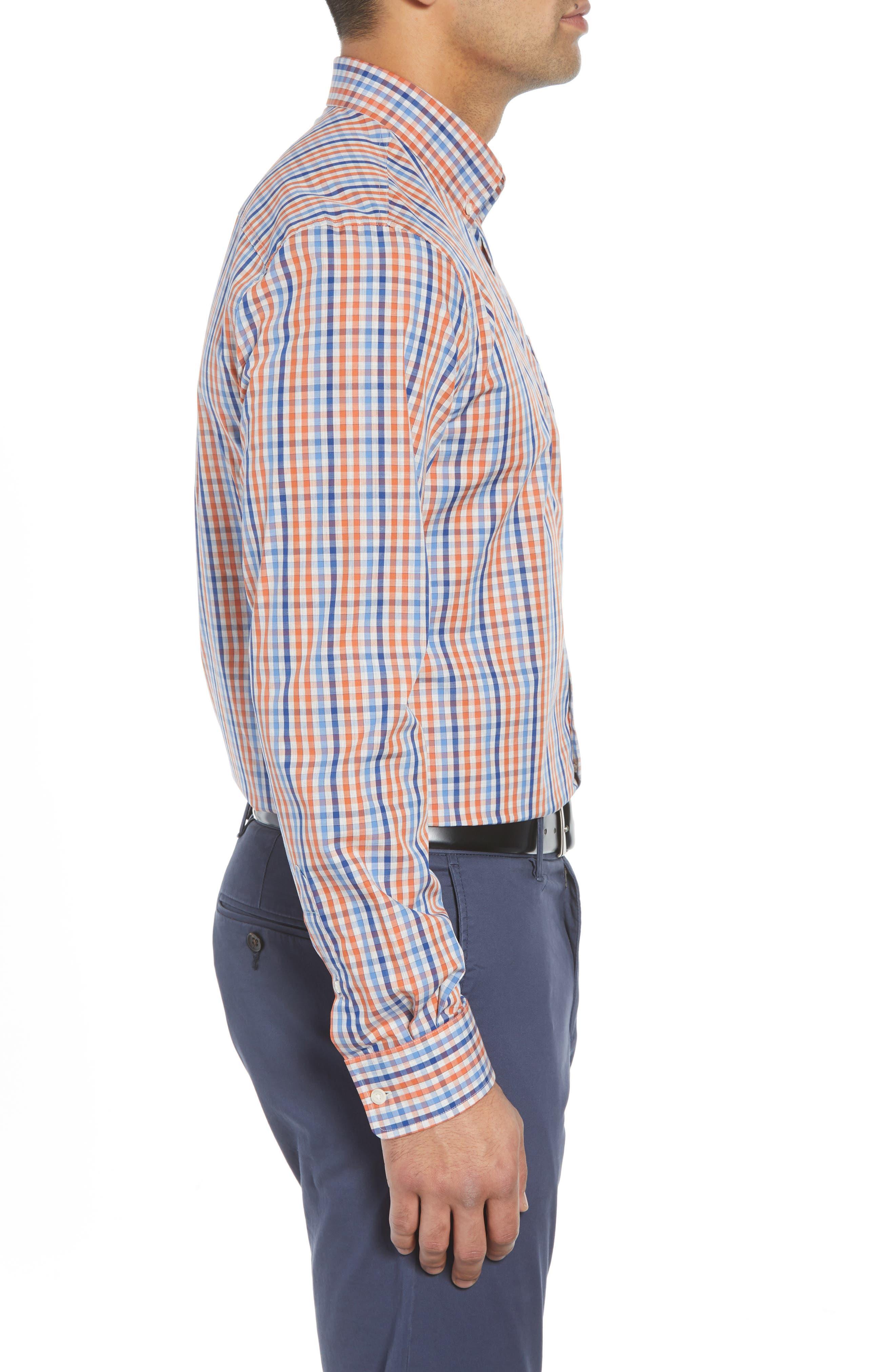 Rawlings Classic Fit Sport Shirt,                             Alternate thumbnail 4, color,                             MARINER
