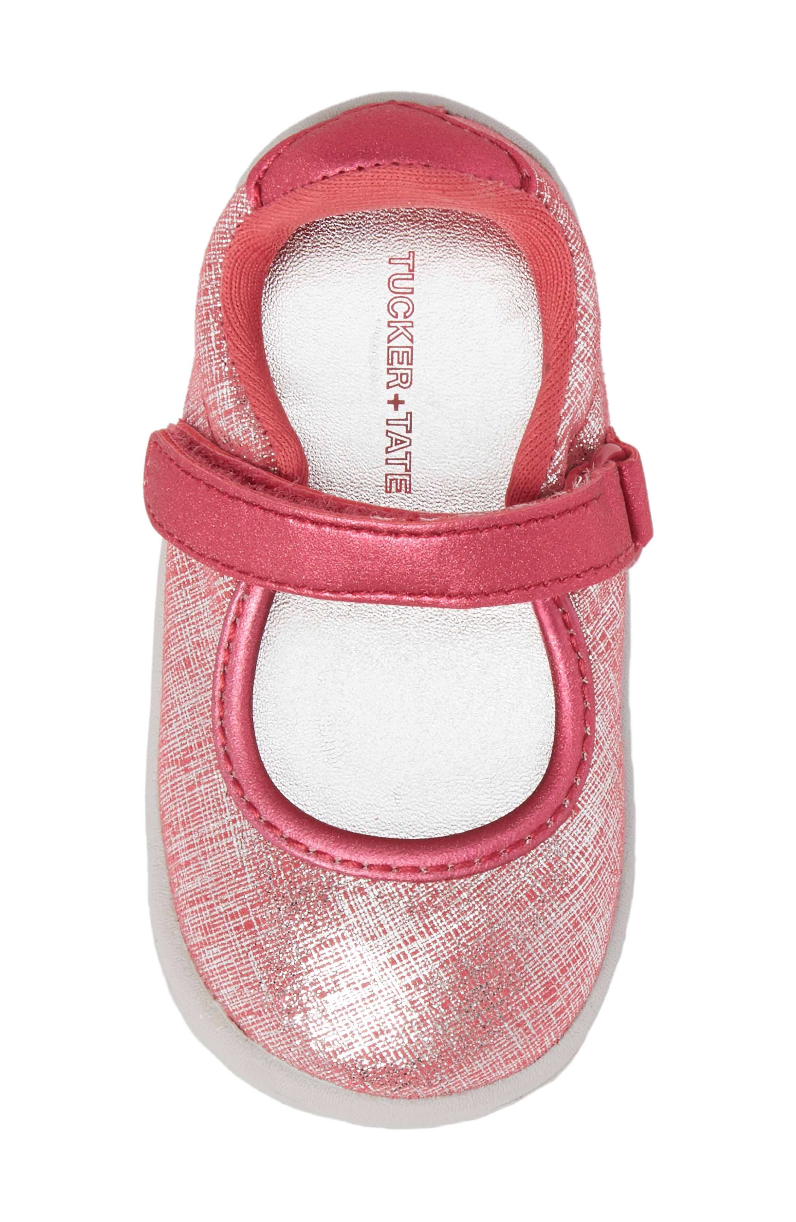 Nora Metallic Mary Jane Sneaker,                             Alternate thumbnail 5, color,                             650