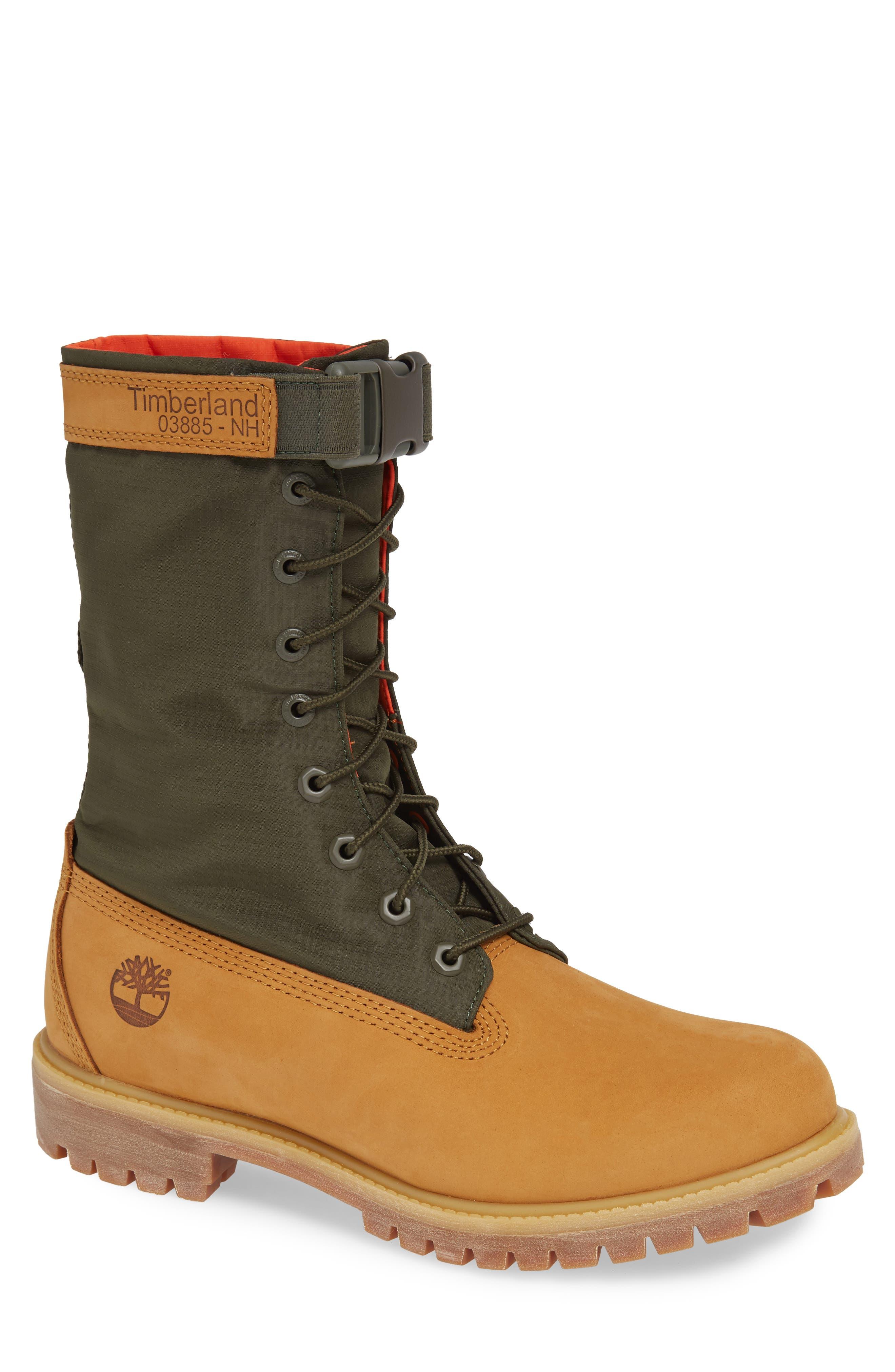 TIMBERLAND,                             Premium Gaiter Plain Toe Boot,                             Main thumbnail 1, color,                             231