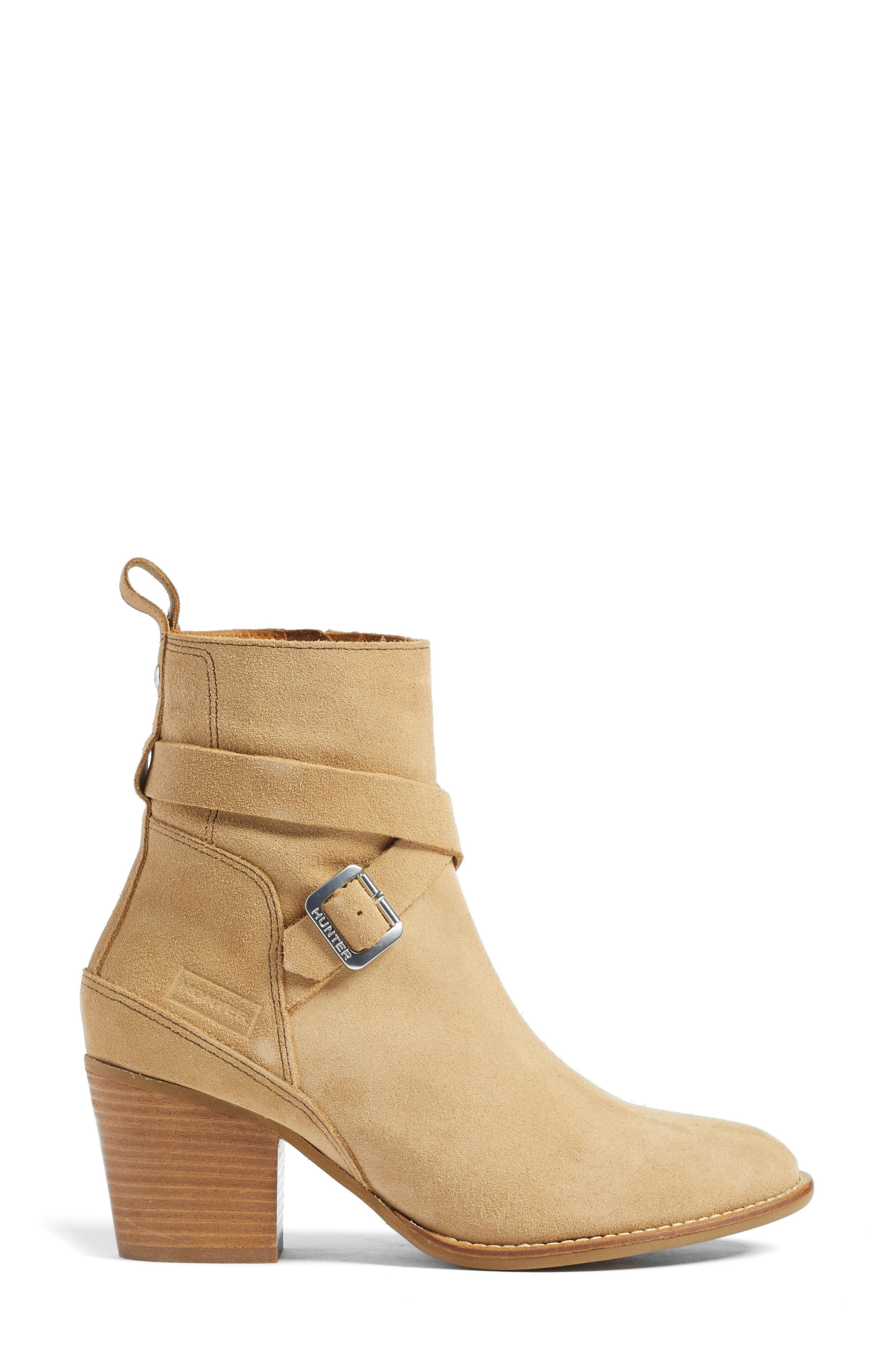 Refined Water Resistant Strappy Boot,                             Alternate thumbnail 6, color,