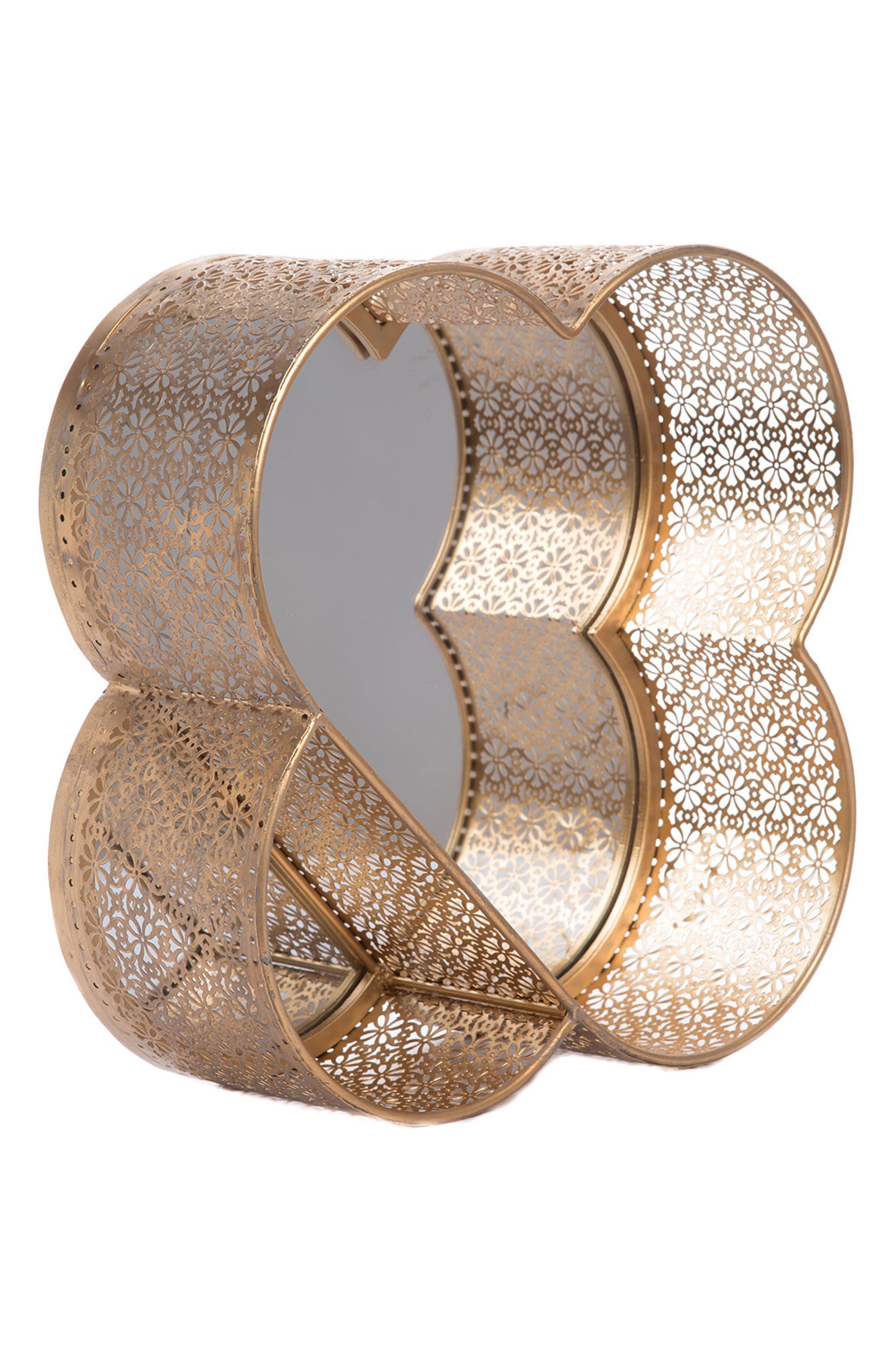 Raj Mirror,                             Alternate thumbnail 3, color,                             GOLD