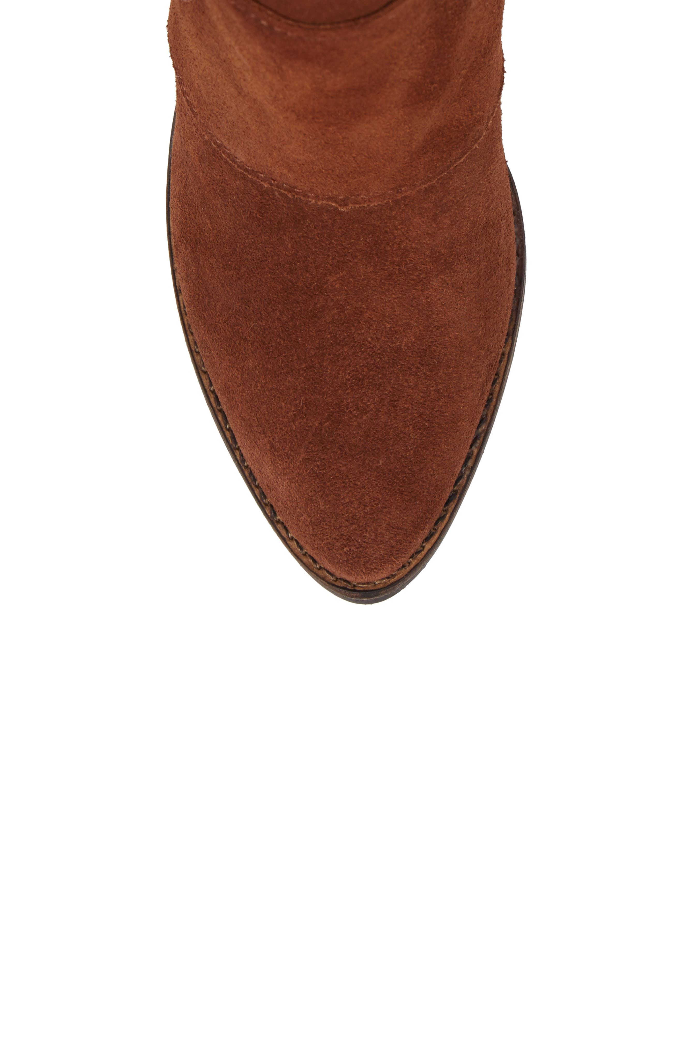 Laney Notched Heel Bootie,                             Alternate thumbnail 19, color,