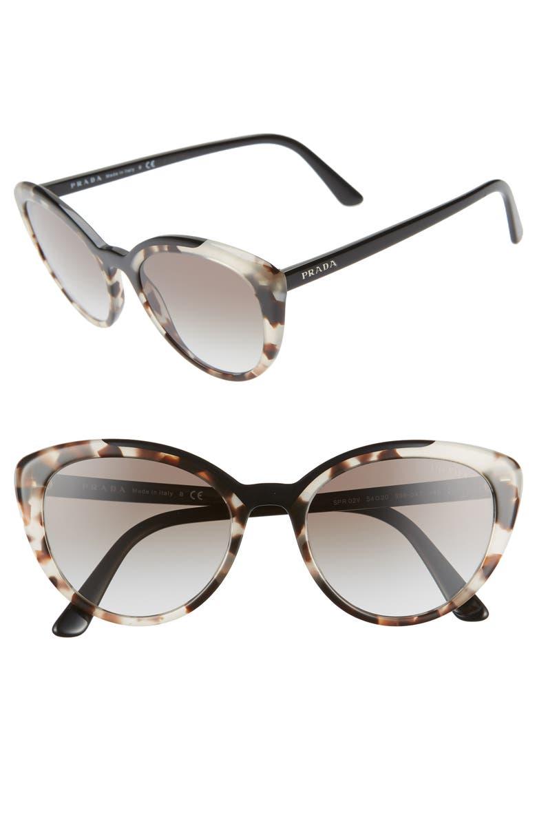 fd0549a7346c Prada 54mm Cat Eye Sunglasses