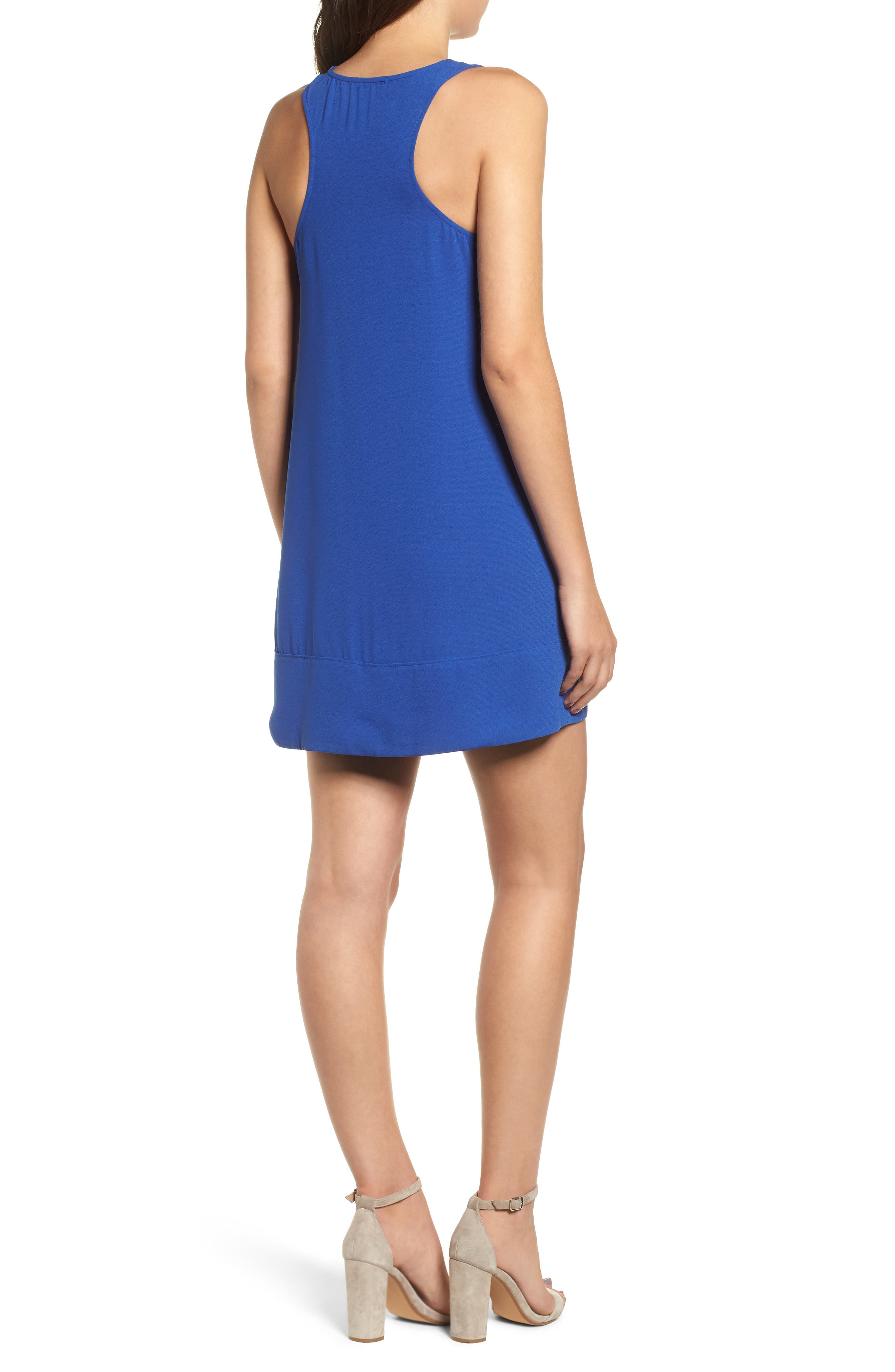 Racerback Shift Dress,                             Alternate thumbnail 52, color,