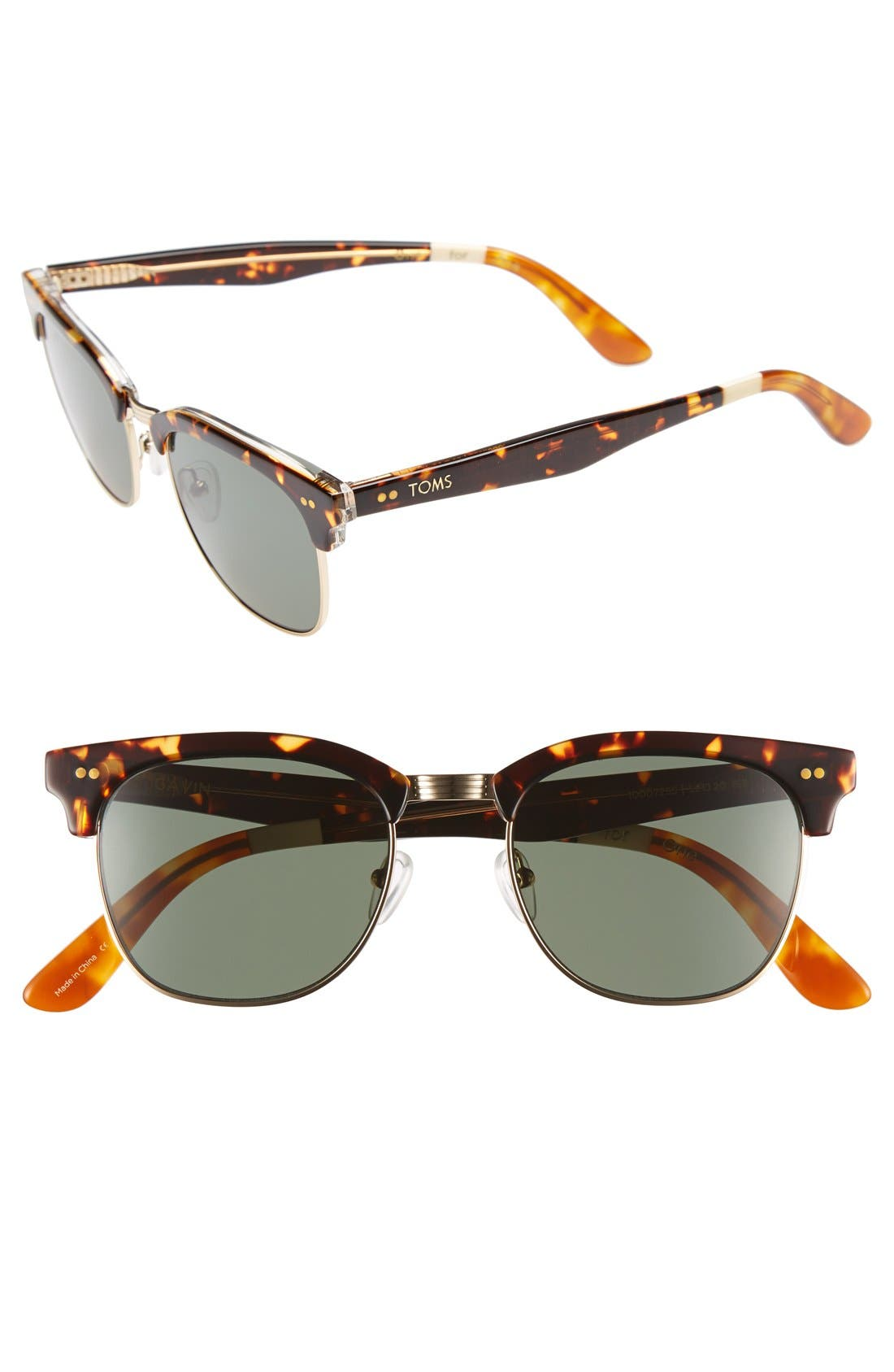 'Gavin' 52mm Sunglasses,                             Main thumbnail 1, color,                             200