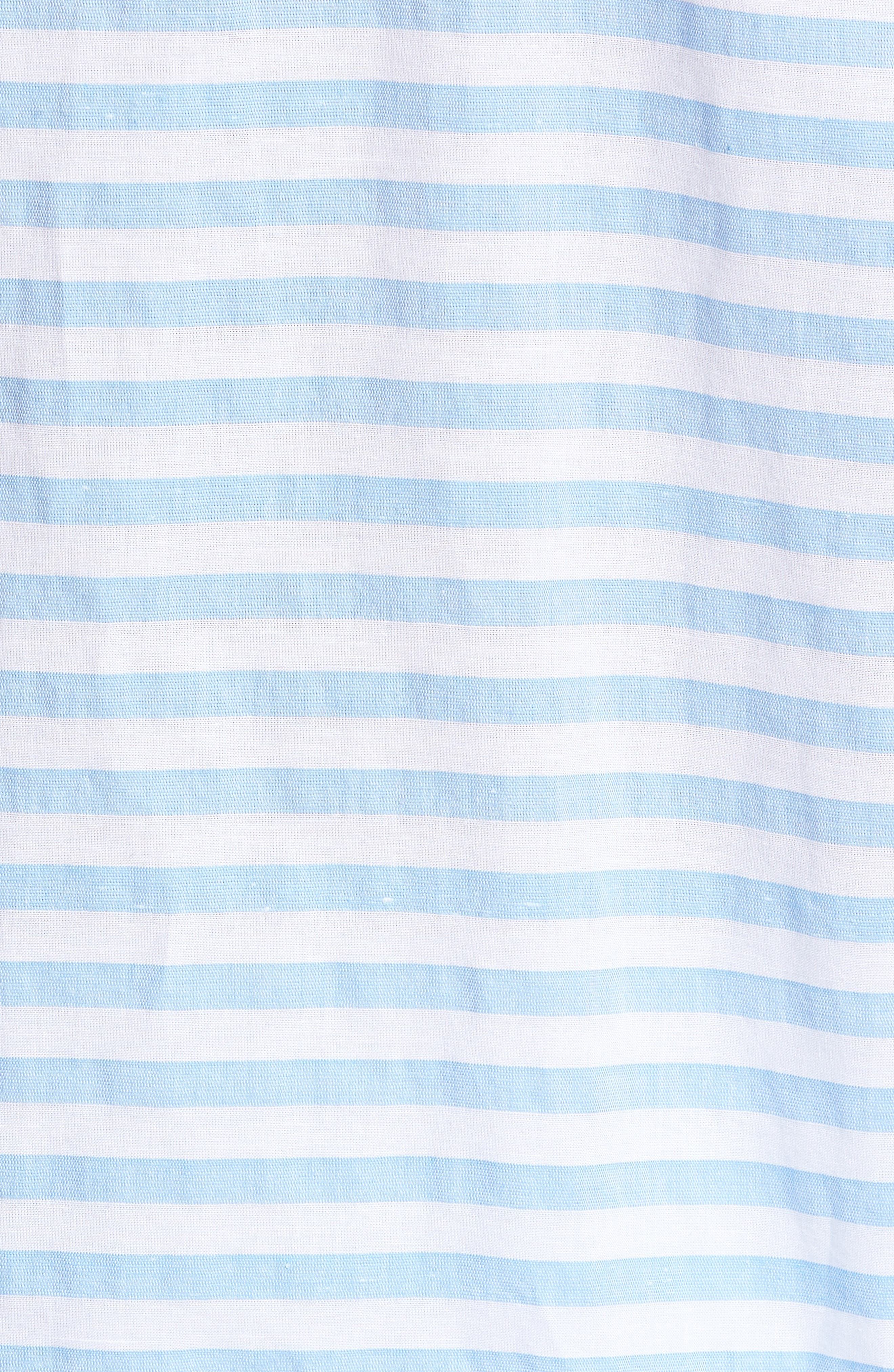Toe Side Stripe Short Sleeve Sport Shirt,                             Alternate thumbnail 9, color,