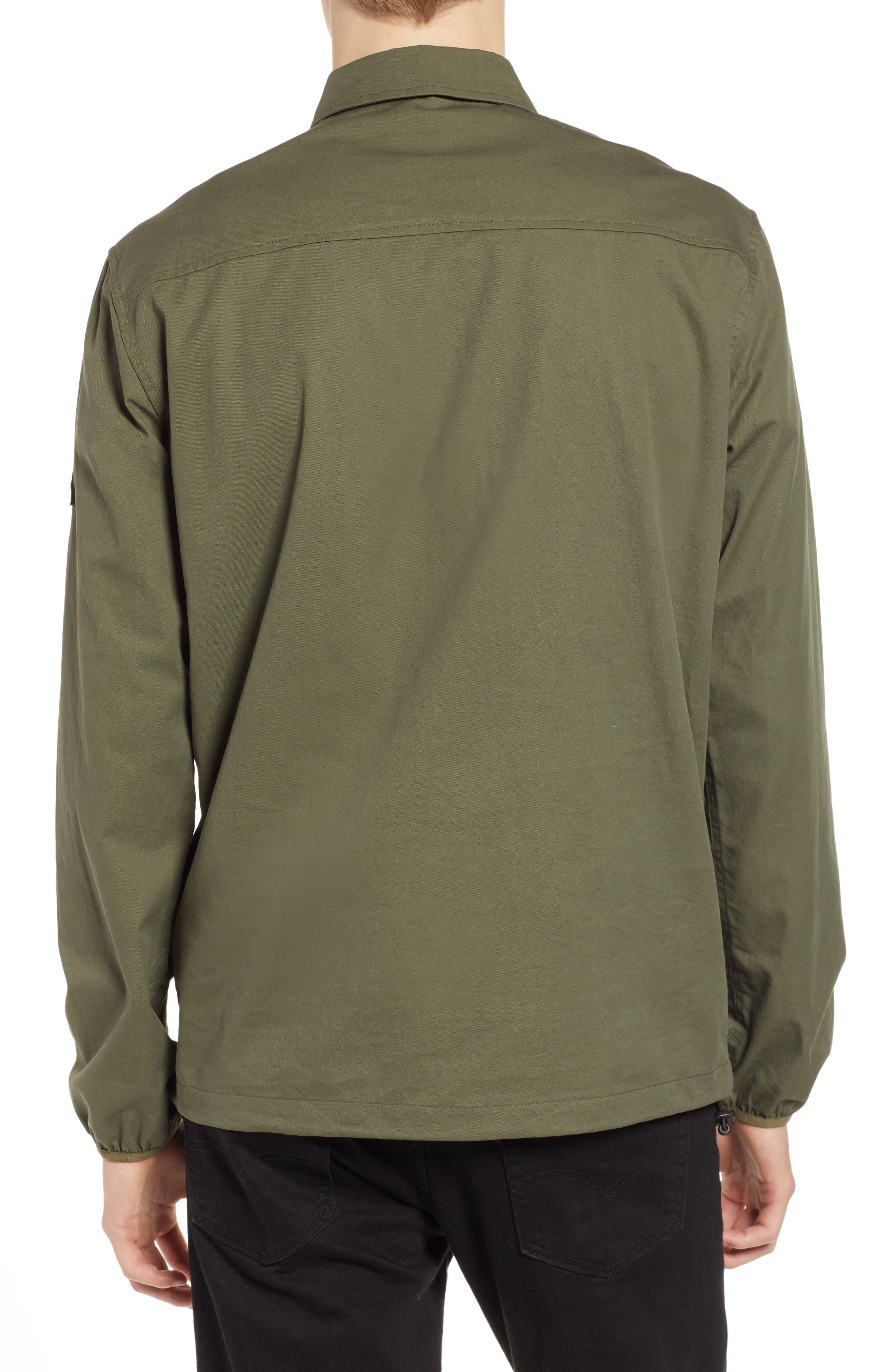 Adelanto Snap Pocket Shirt,                             Alternate thumbnail 2, color,                             DARK OLIVE