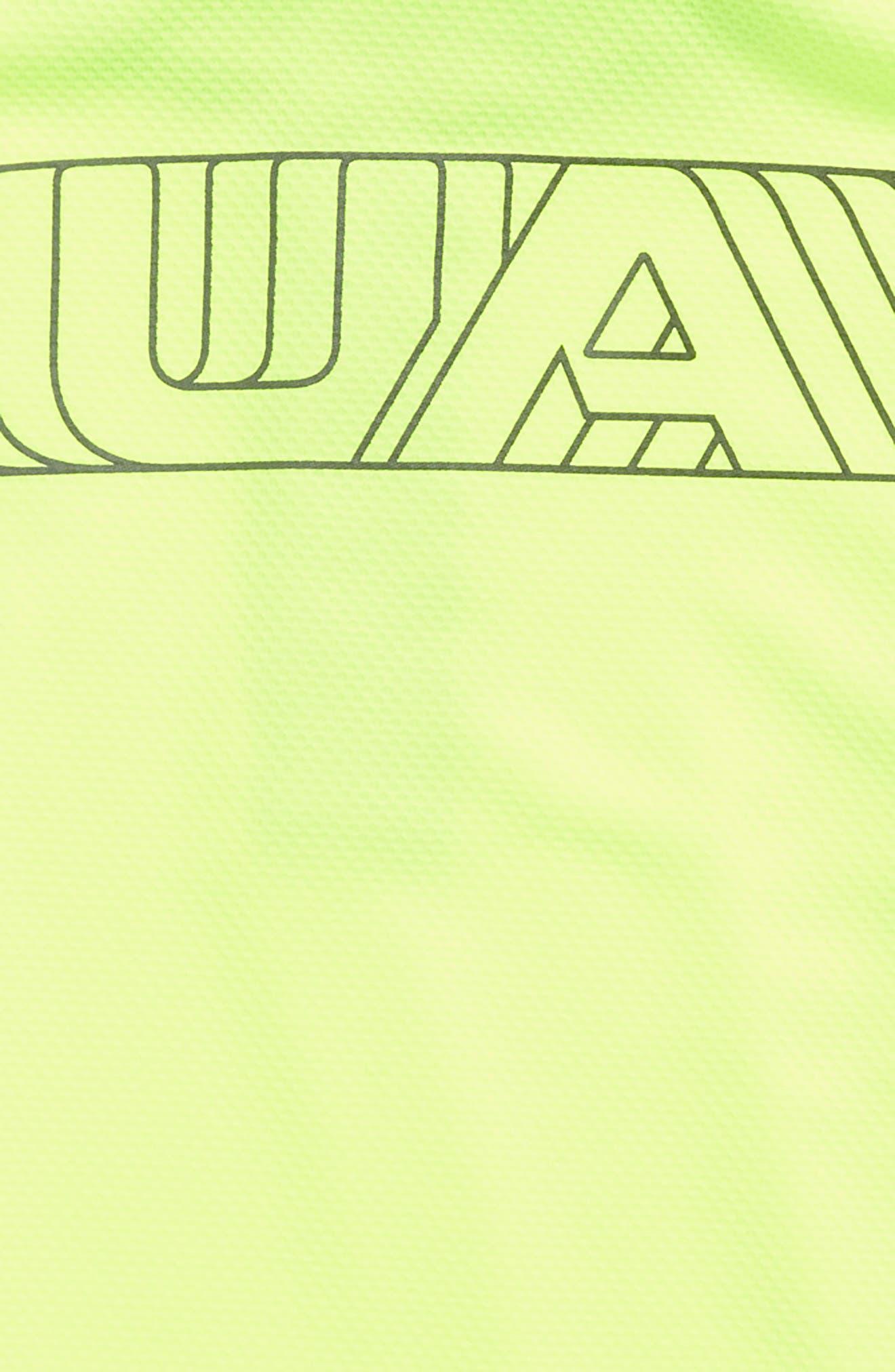 MVP Quarter Zip Pullover,                             Alternate thumbnail 3, color,                             YELLOW