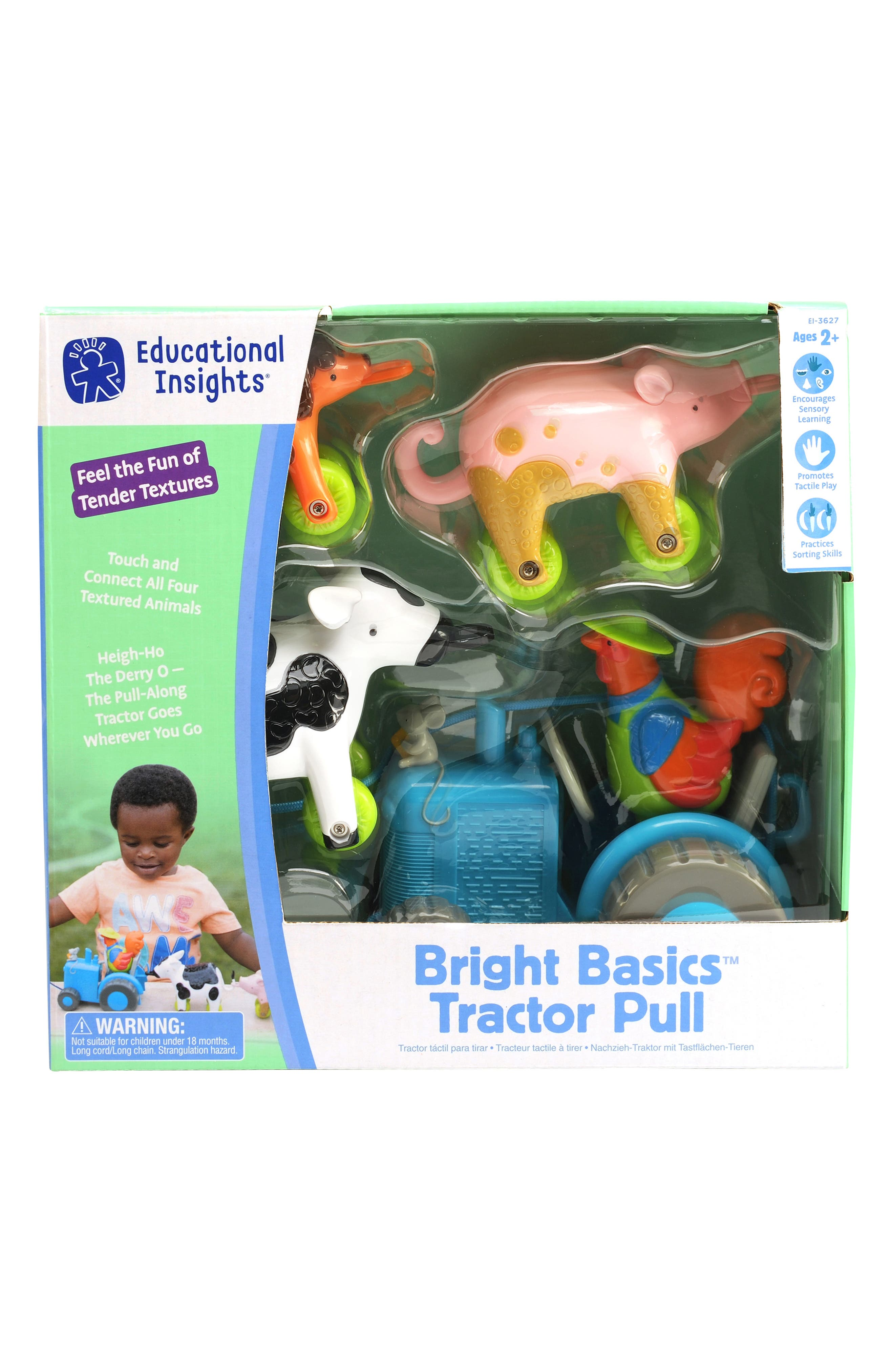 Bright Basics<sup>™</sup> Tractor Pull Toy,                             Alternate thumbnail 2, color,                             MULTI
