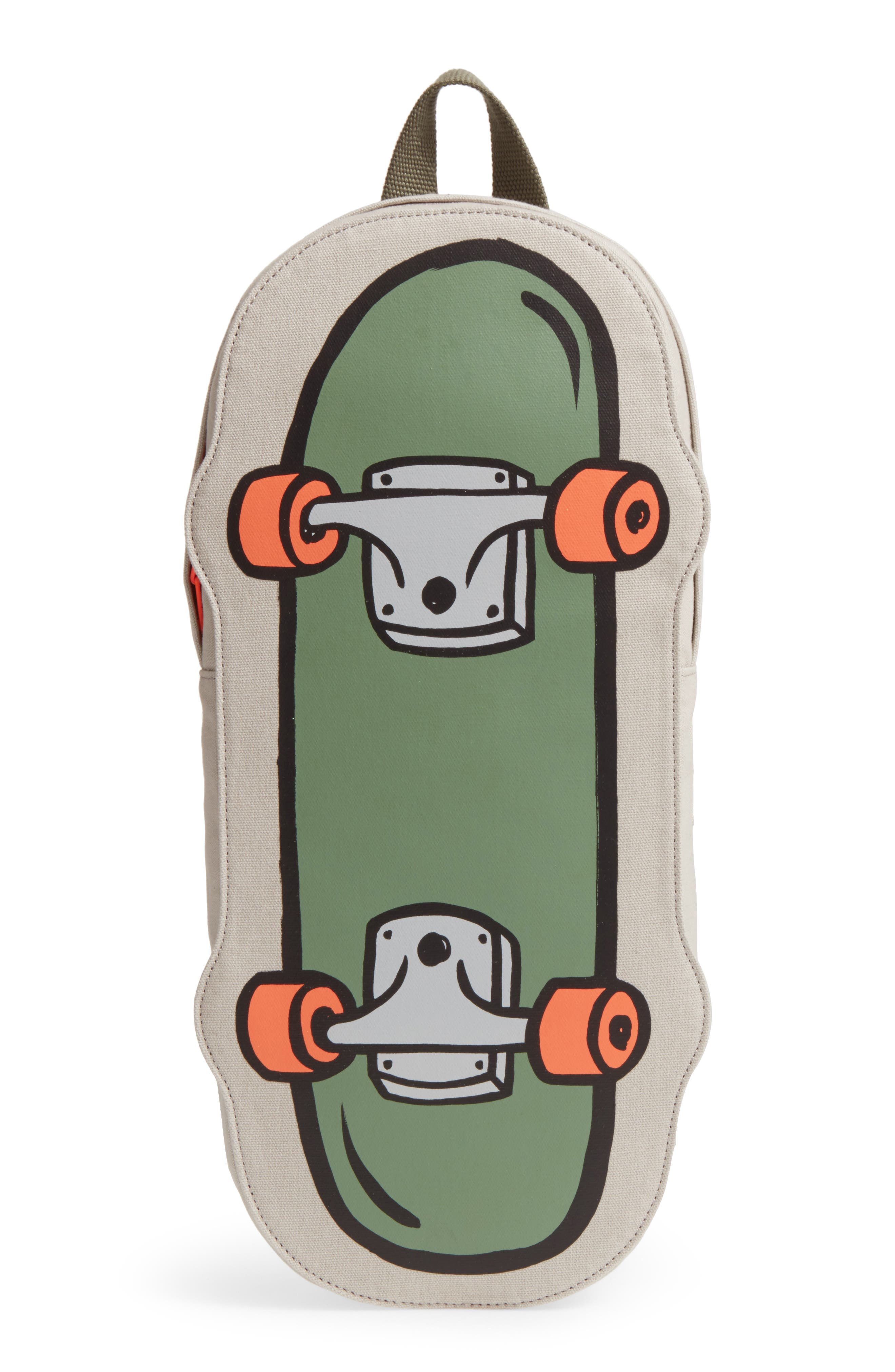 Skateboard Backpack,                             Main thumbnail 1, color,