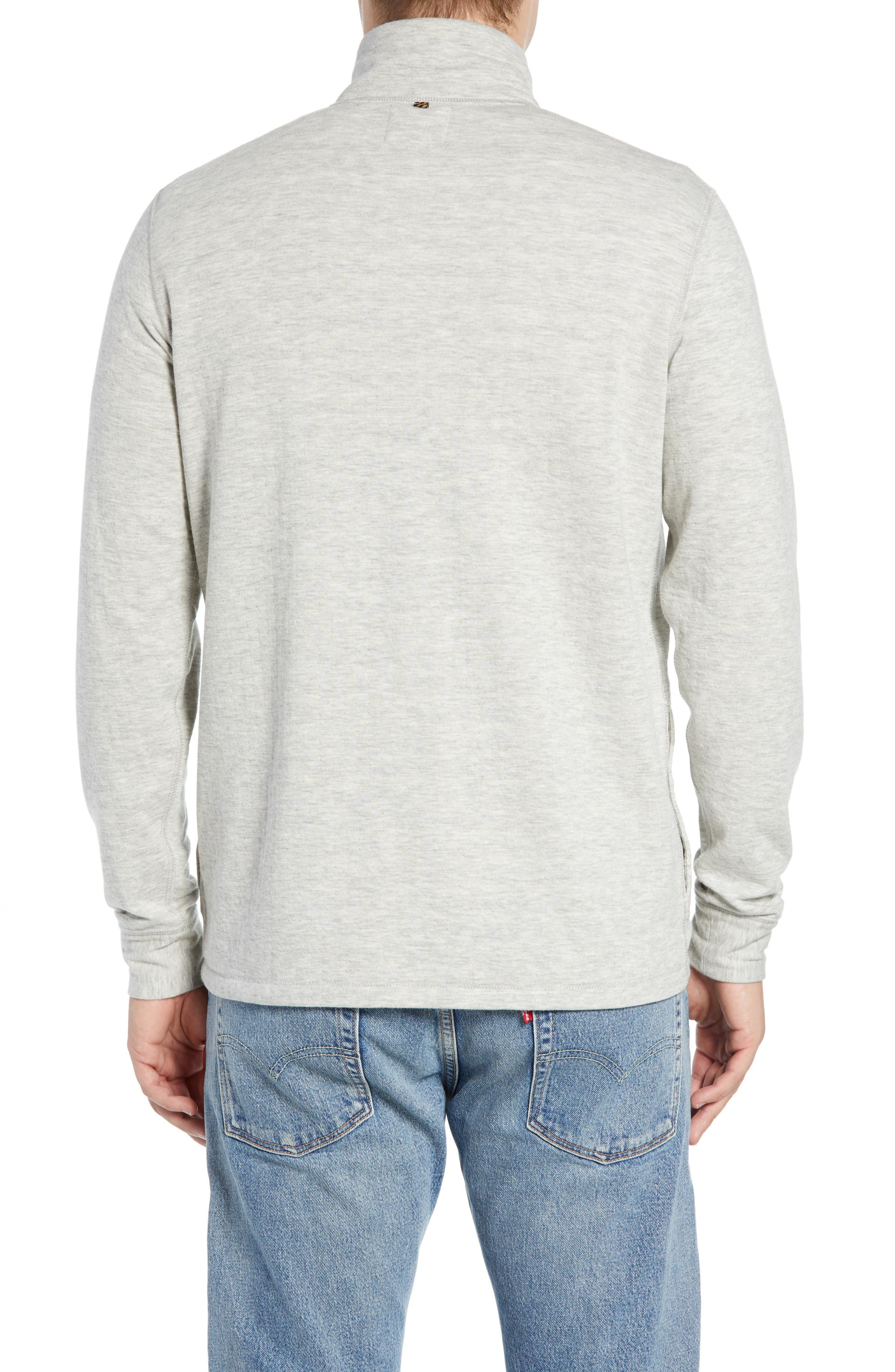 Charles Regular Fit Half Zip Sweater,                             Alternate thumbnail 2, color,                             074