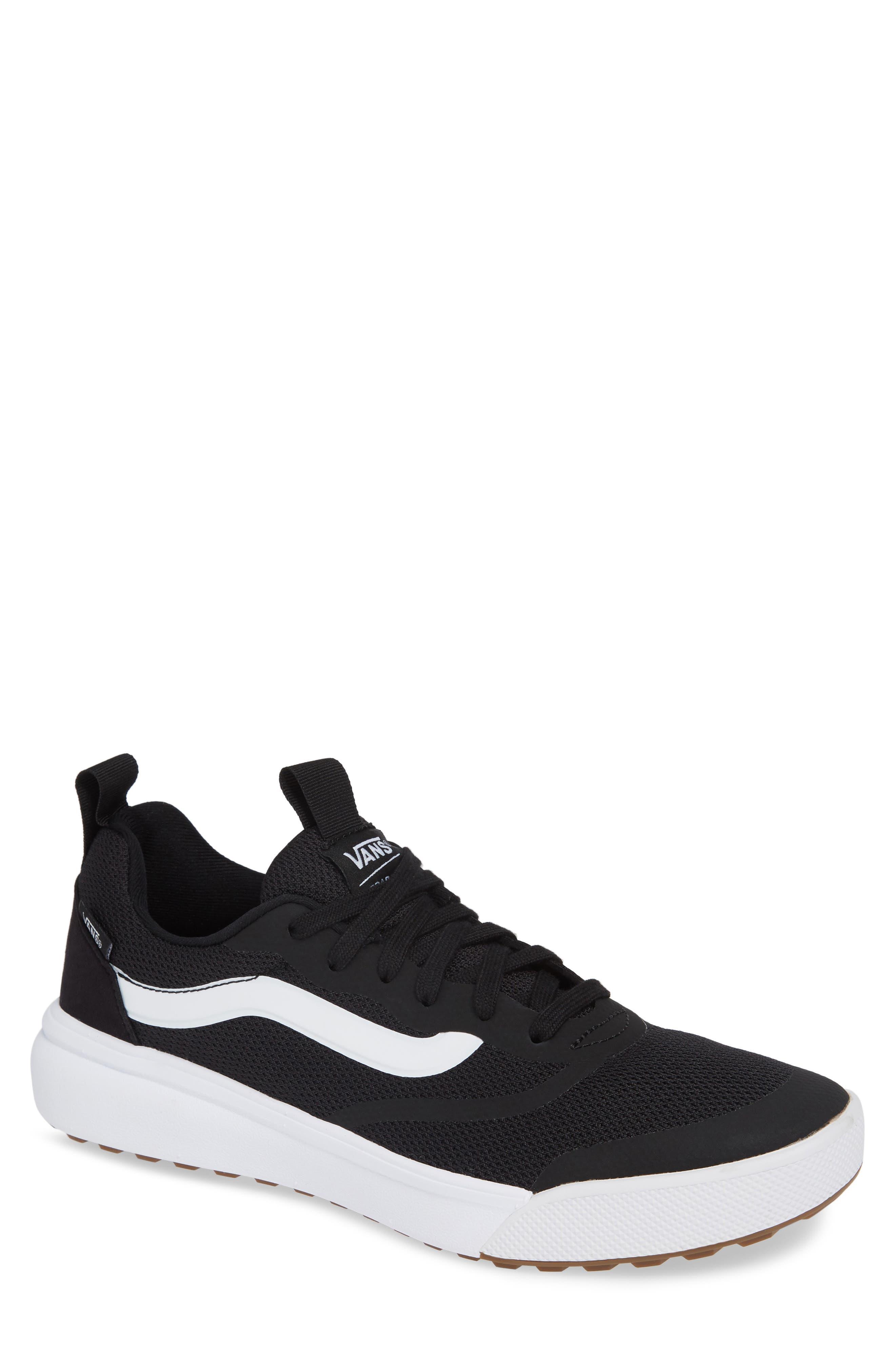 Ultrarange Rapidwield Sneaker,                         Main,                         color, BLACK/ WHITE MESH
