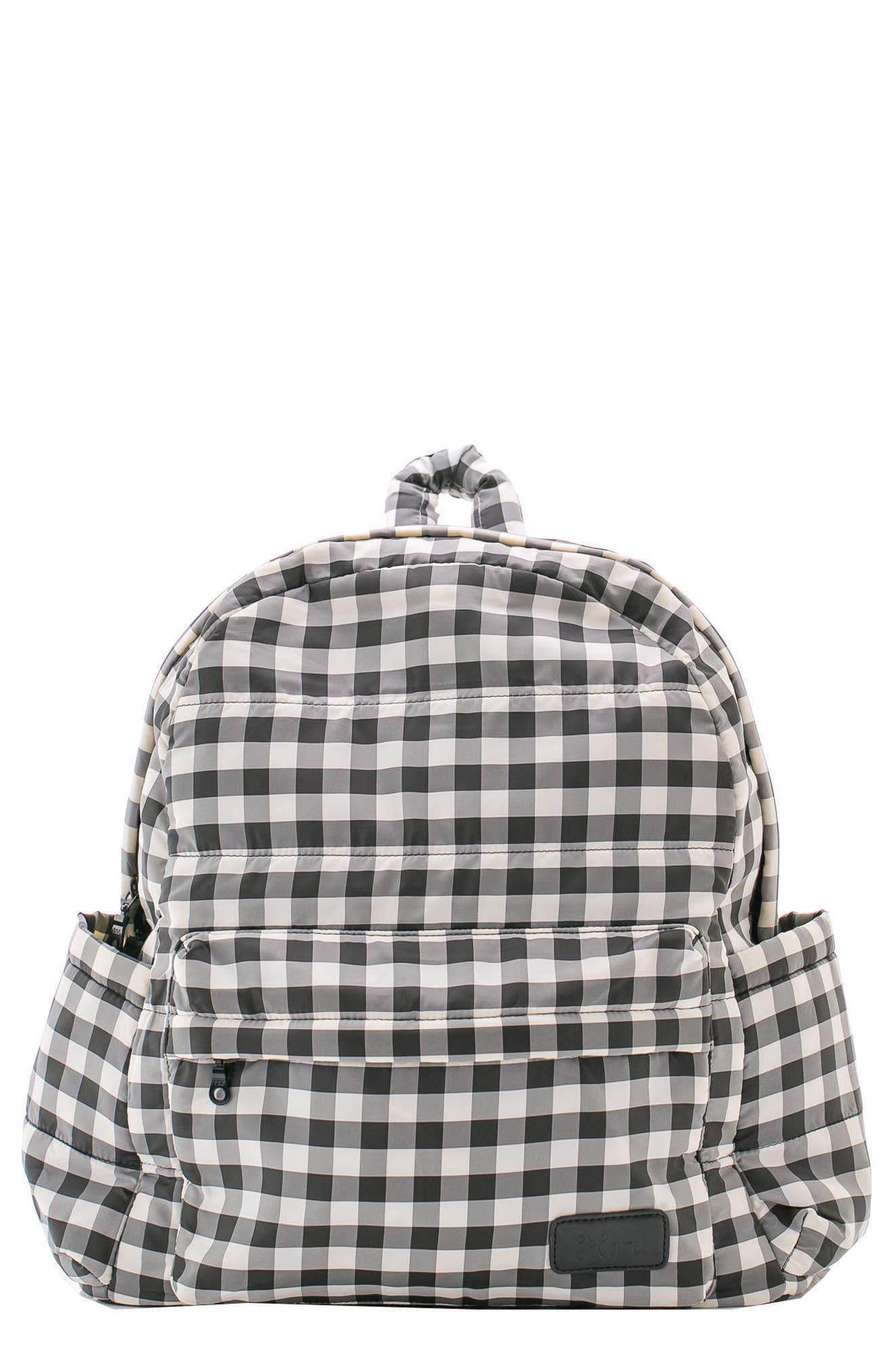 Print Water Repellent Diaper Backpack,                         Main,                         color, 002