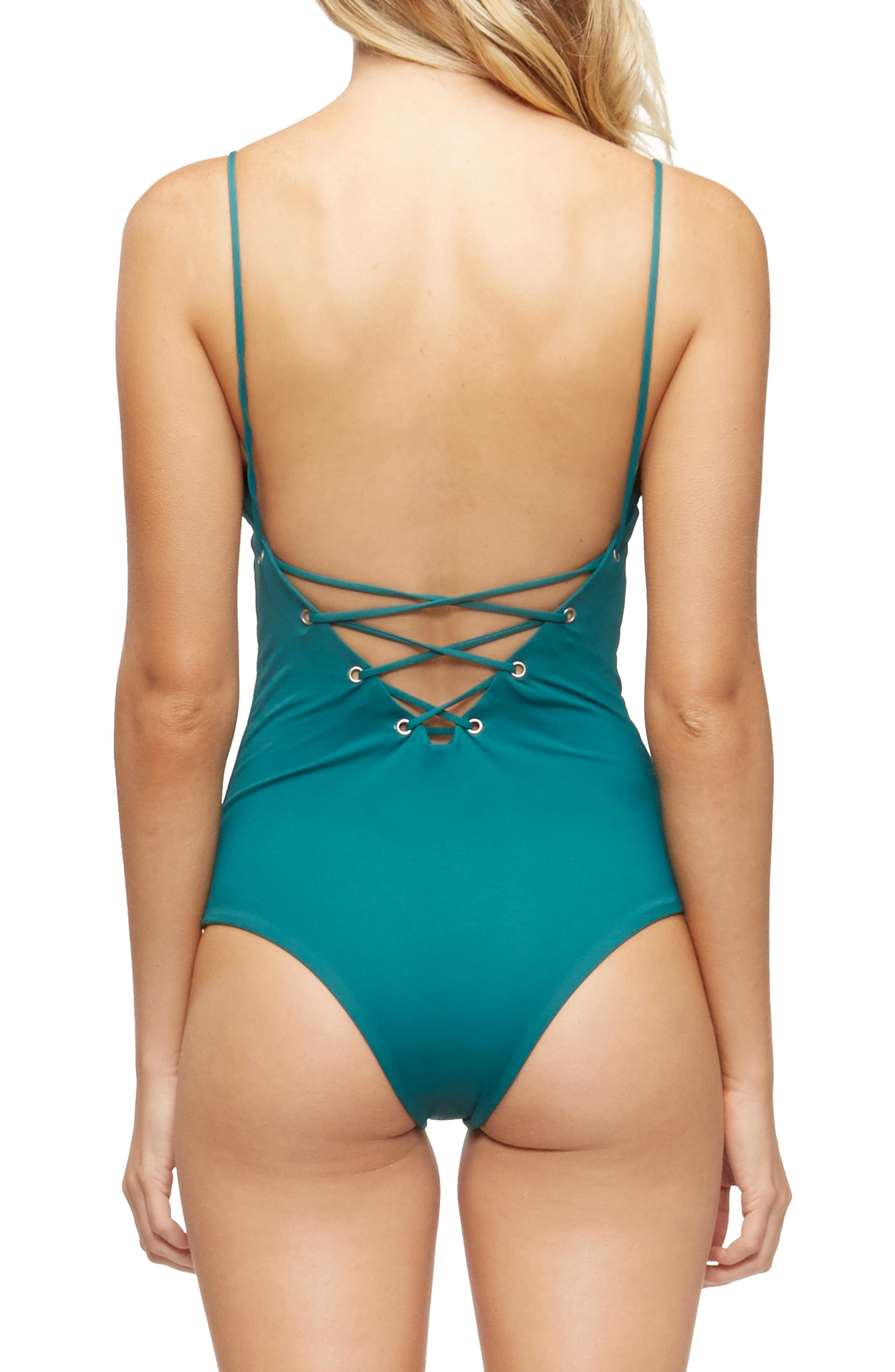 Monahan One-Piece Swimsuit,                             Alternate thumbnail 2, color,                             313