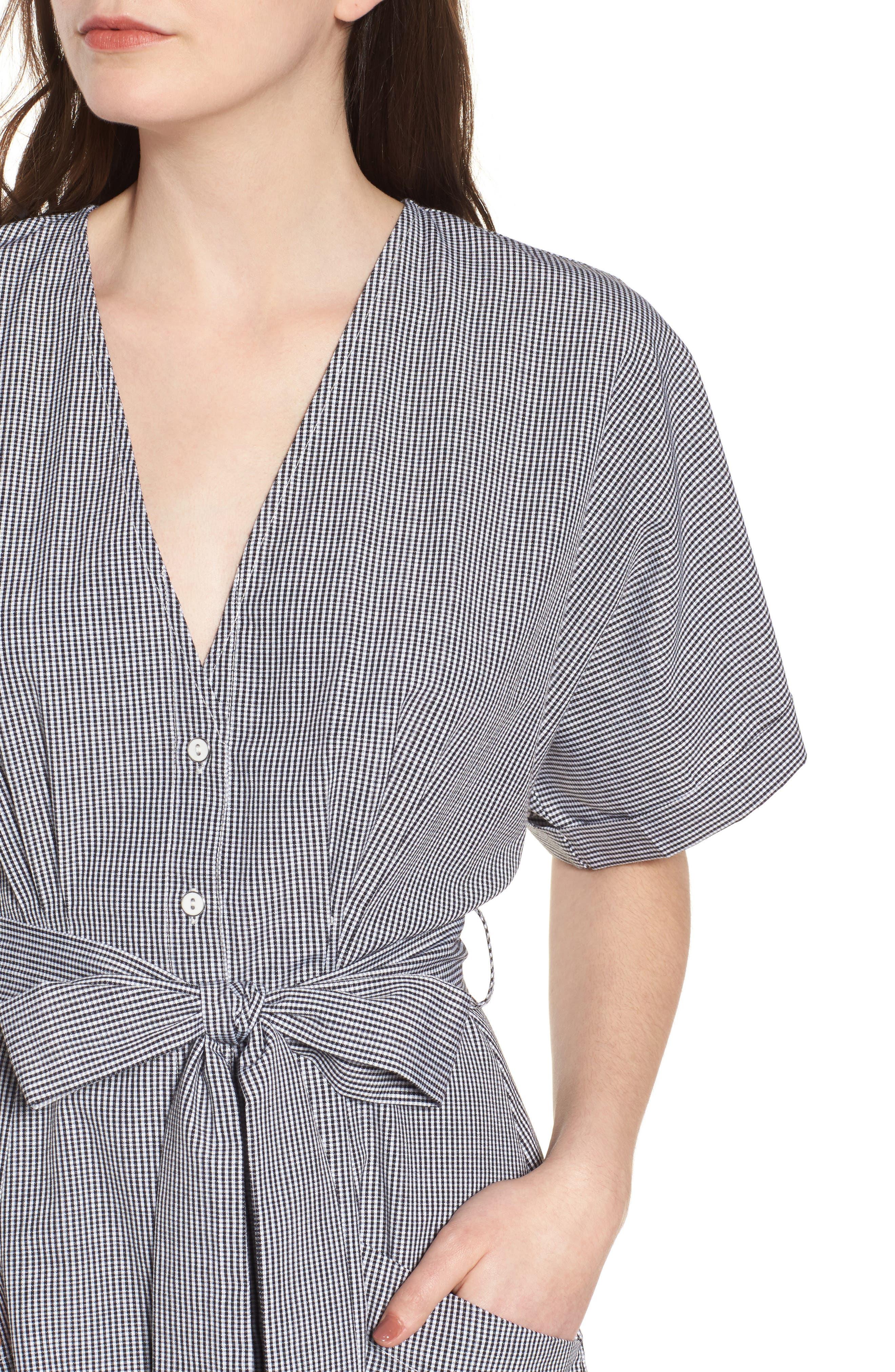 Button Front Dress,                             Alternate thumbnail 11, color,