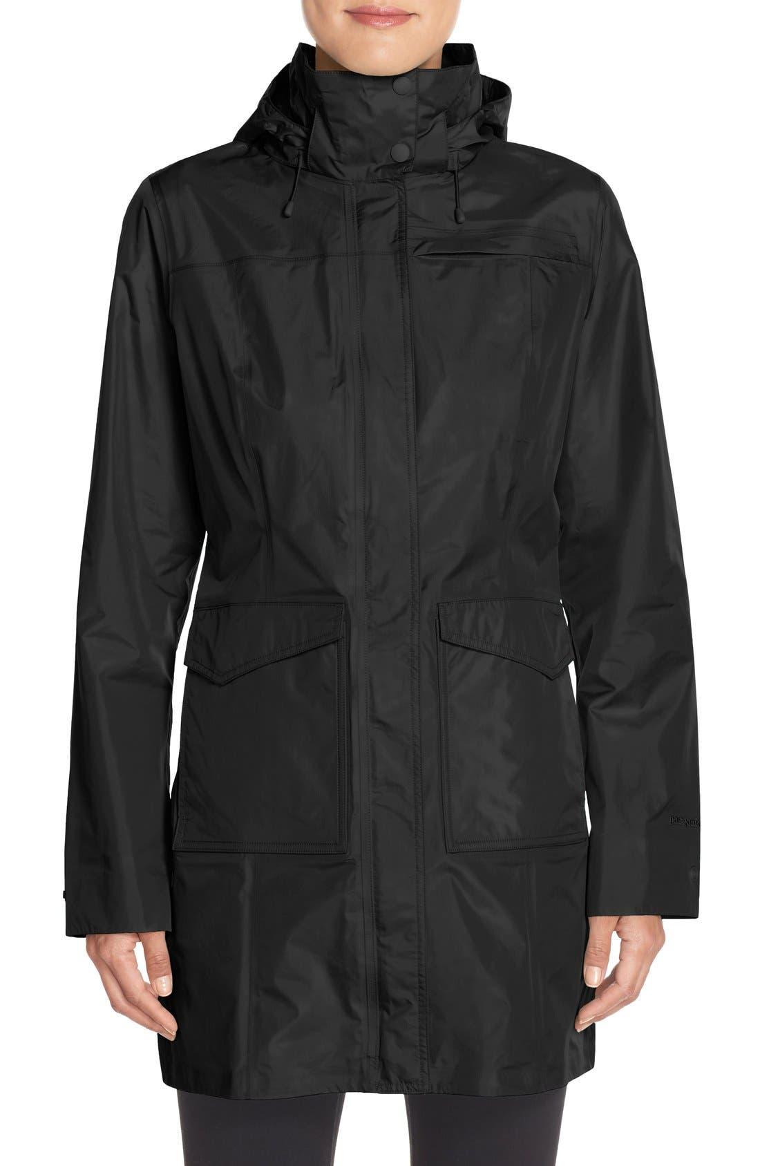 'Torrentshell' Waterproof City Coat,                             Main thumbnail 1, color,                             001