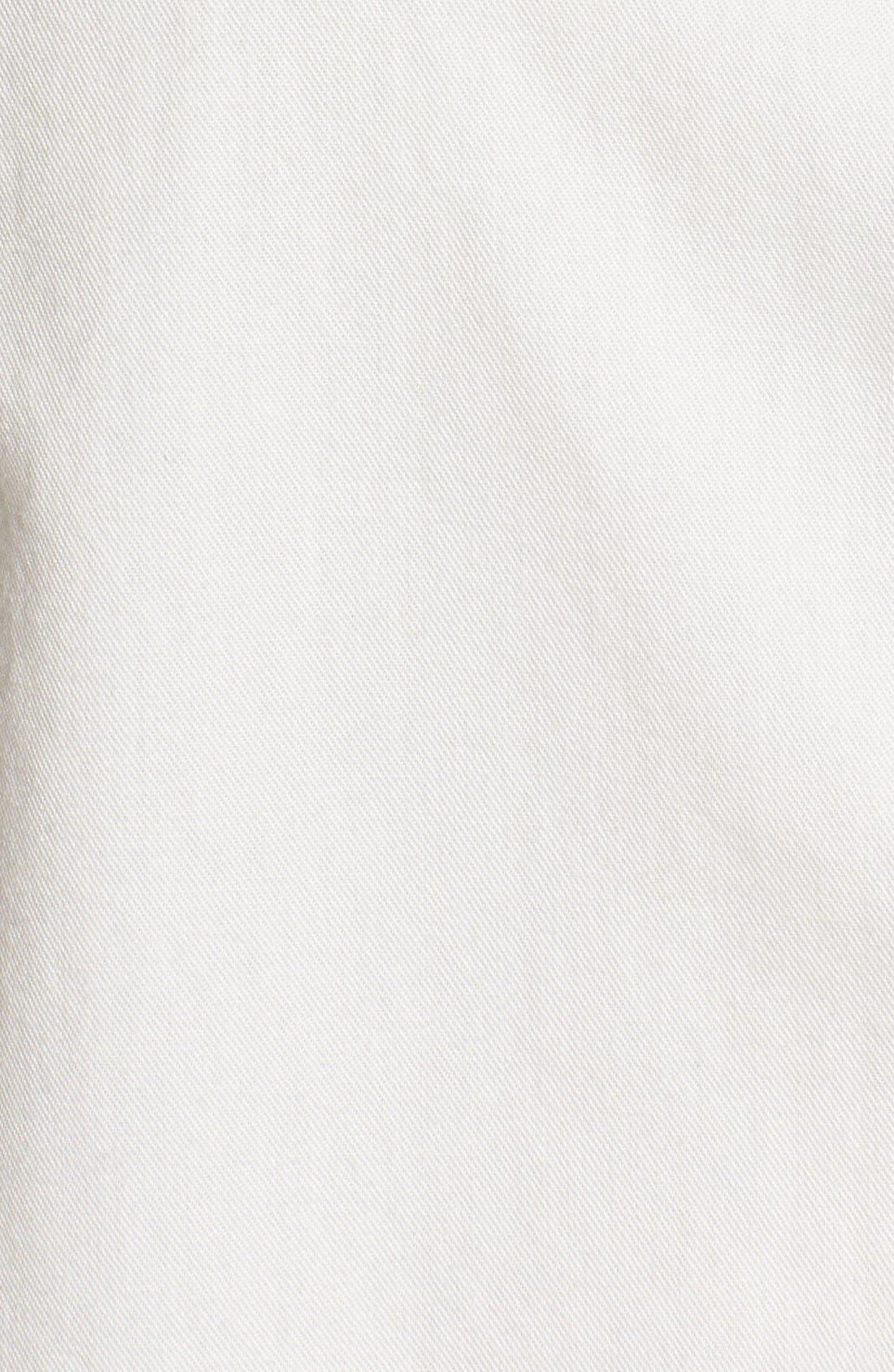 Drapey Oversize Boyshirt,                             Alternate thumbnail 9, color,                             PURE WHITE