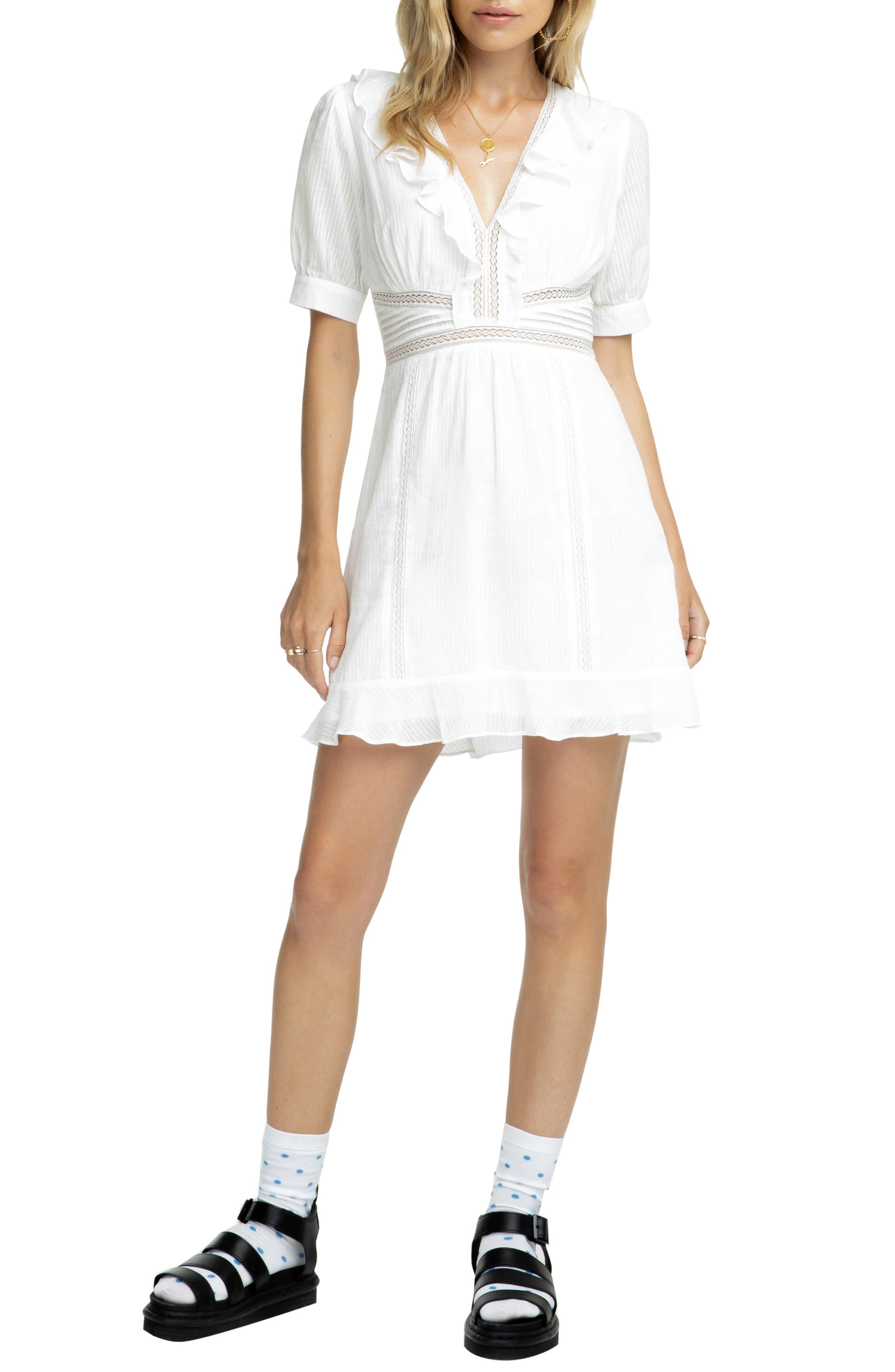 Astr Dresses BRENNAN A-LINE DRESS