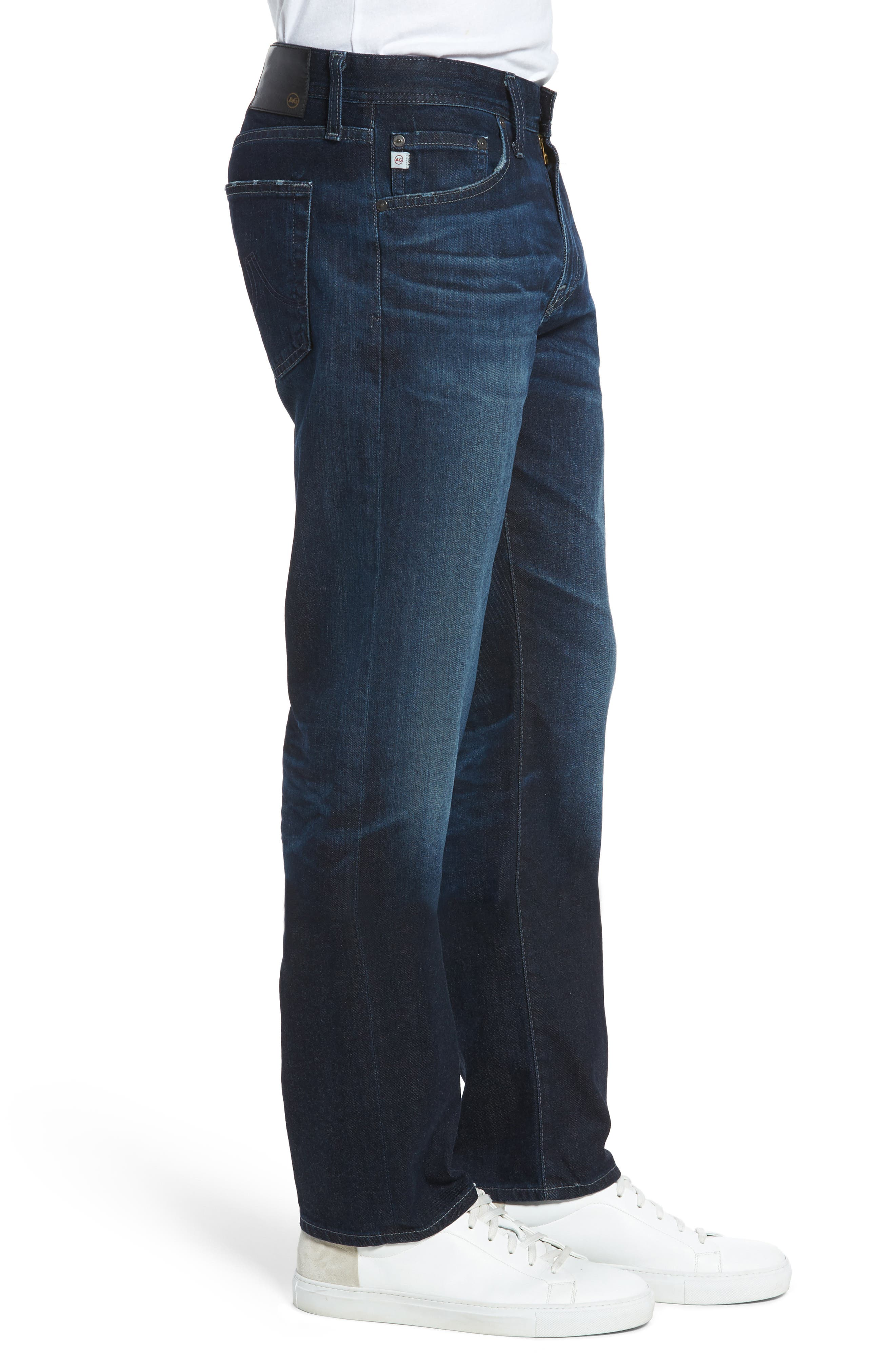 Graduate Slim Straight Fit Jeans,                             Alternate thumbnail 3, color,                             482