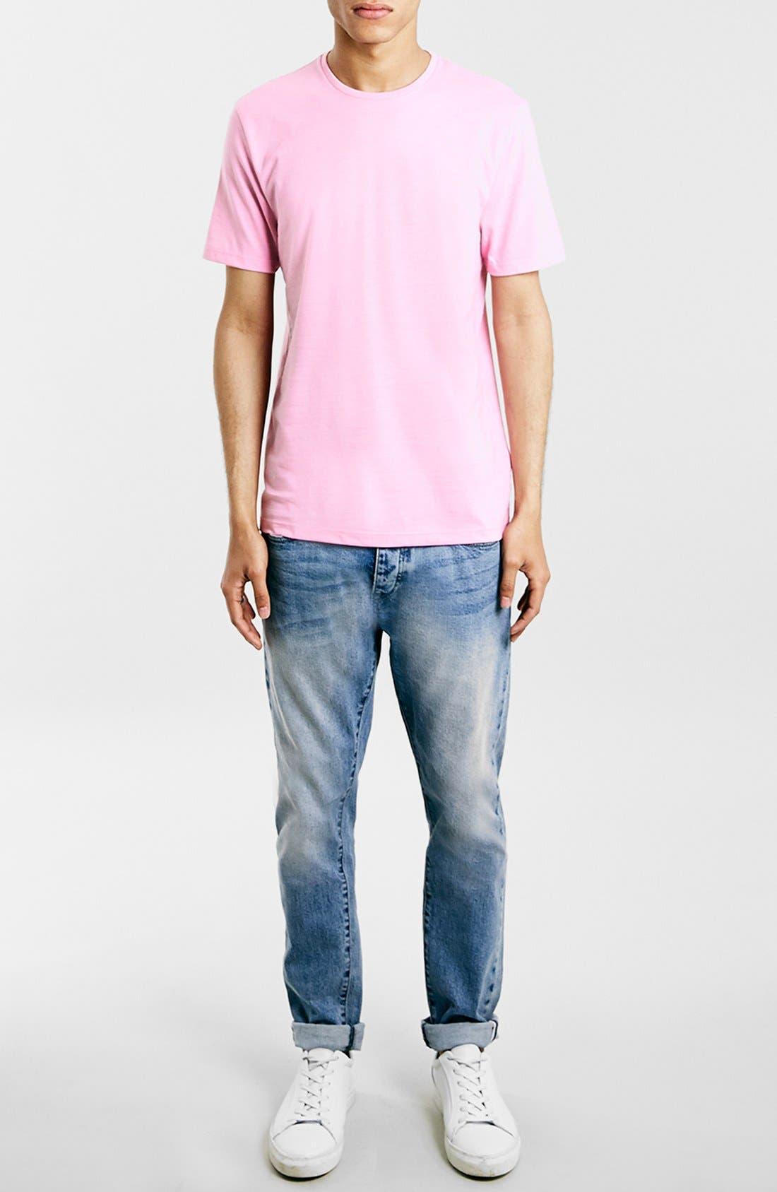 Slim Fit Crewneck T-Shirt,                             Alternate thumbnail 181, color,
