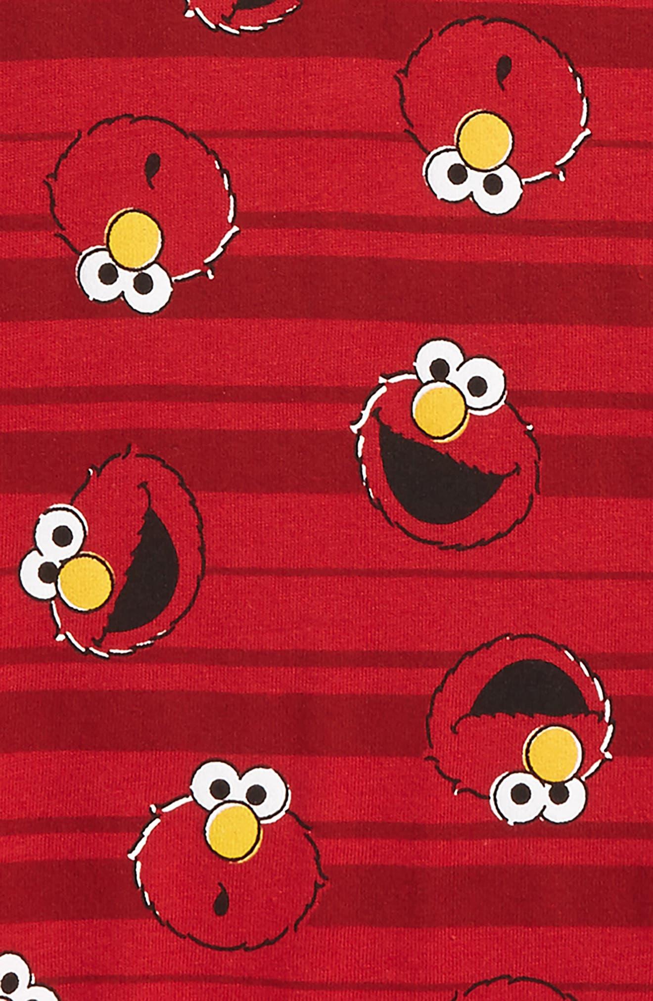 Elmo Stripes T-Shirt,                             Alternate thumbnail 2, color,                             615